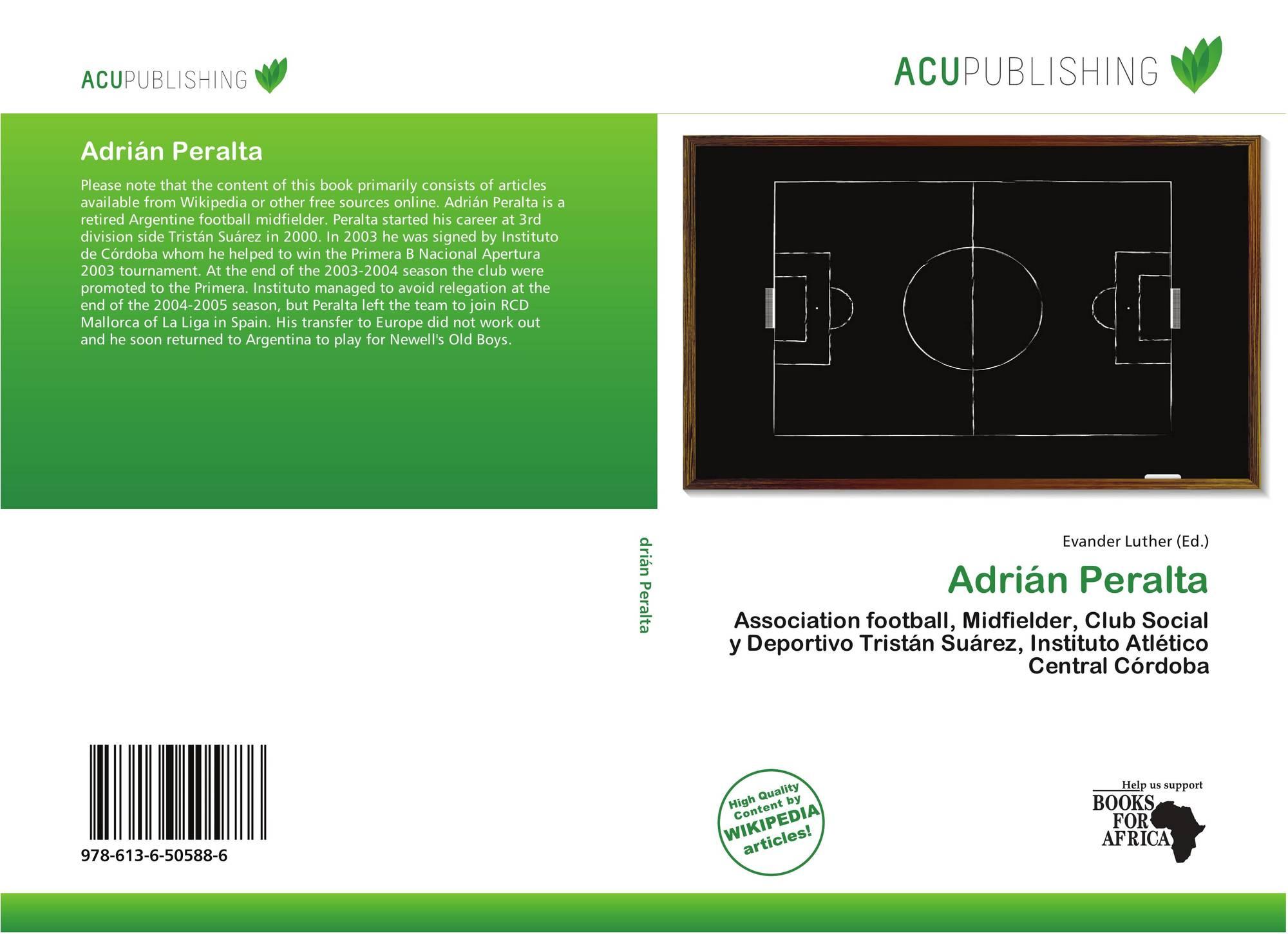 Bookcover Of Adrin Peralta