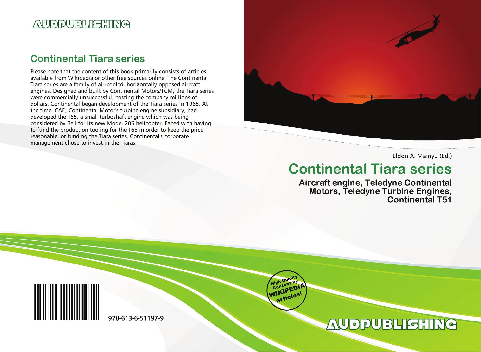 Continental Tiara series, 978-613-6-51197-9, 6136511975