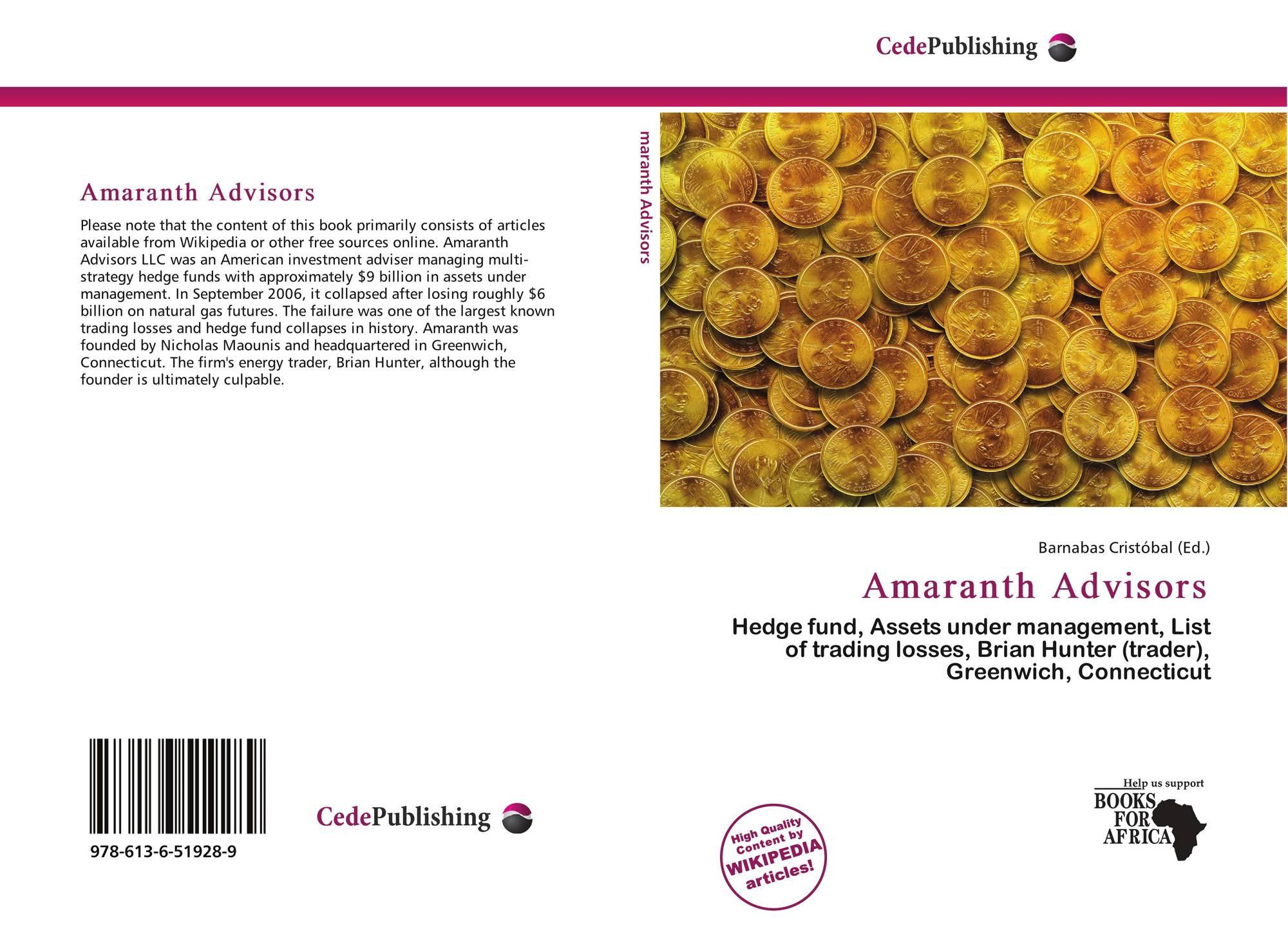 amaranth advisors prekybos strategija žemės ūkio pasaulinės prekybos sistemos politiką