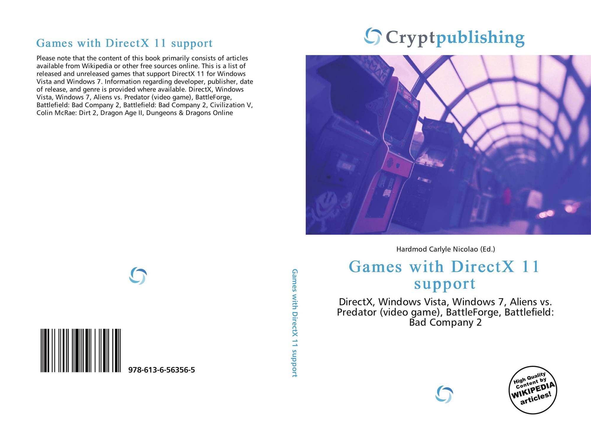 Games with DirectX 11 support, 978-613-6-56356-5, 6136563568