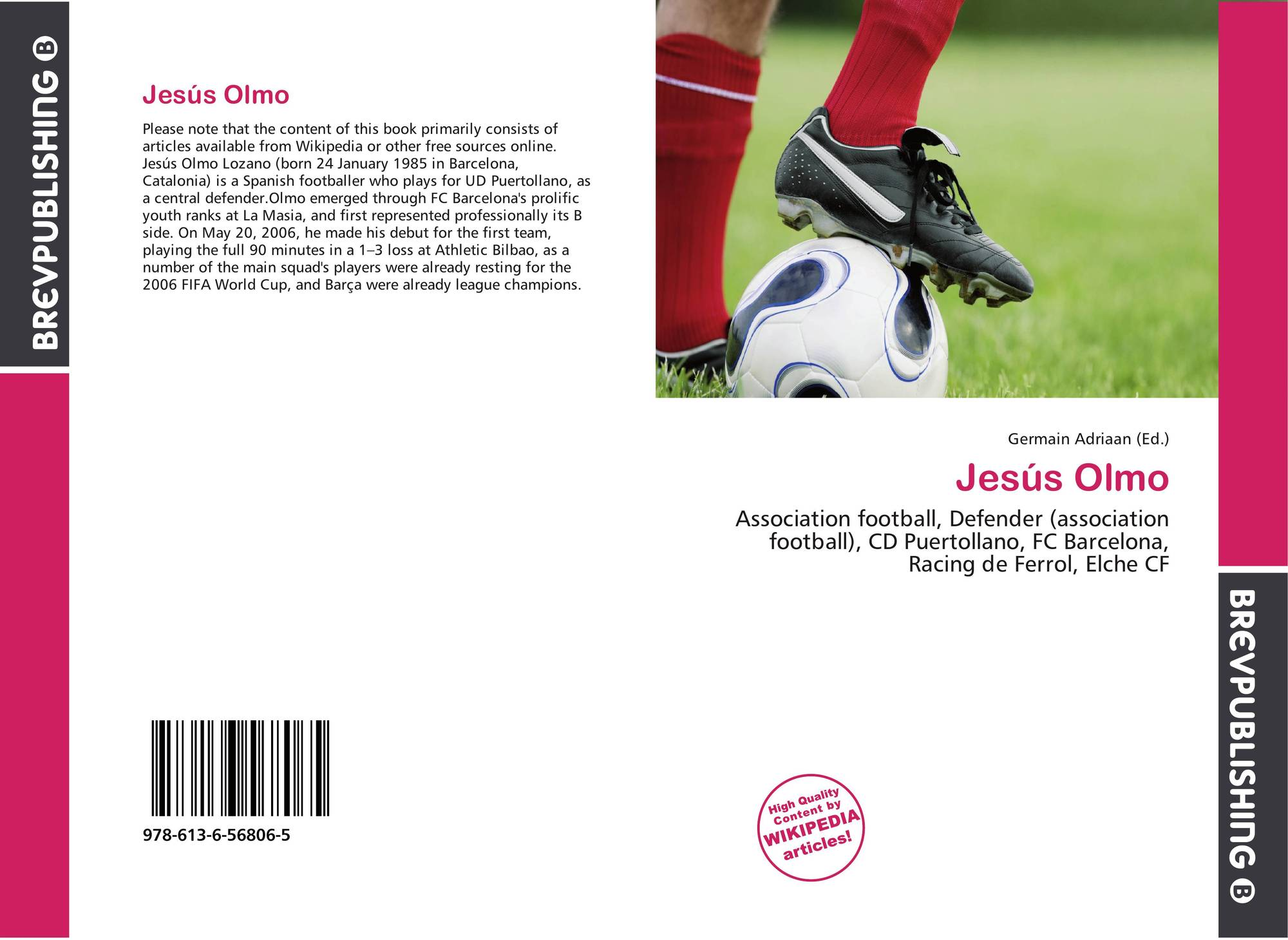 Bookcover of jesús olmo
