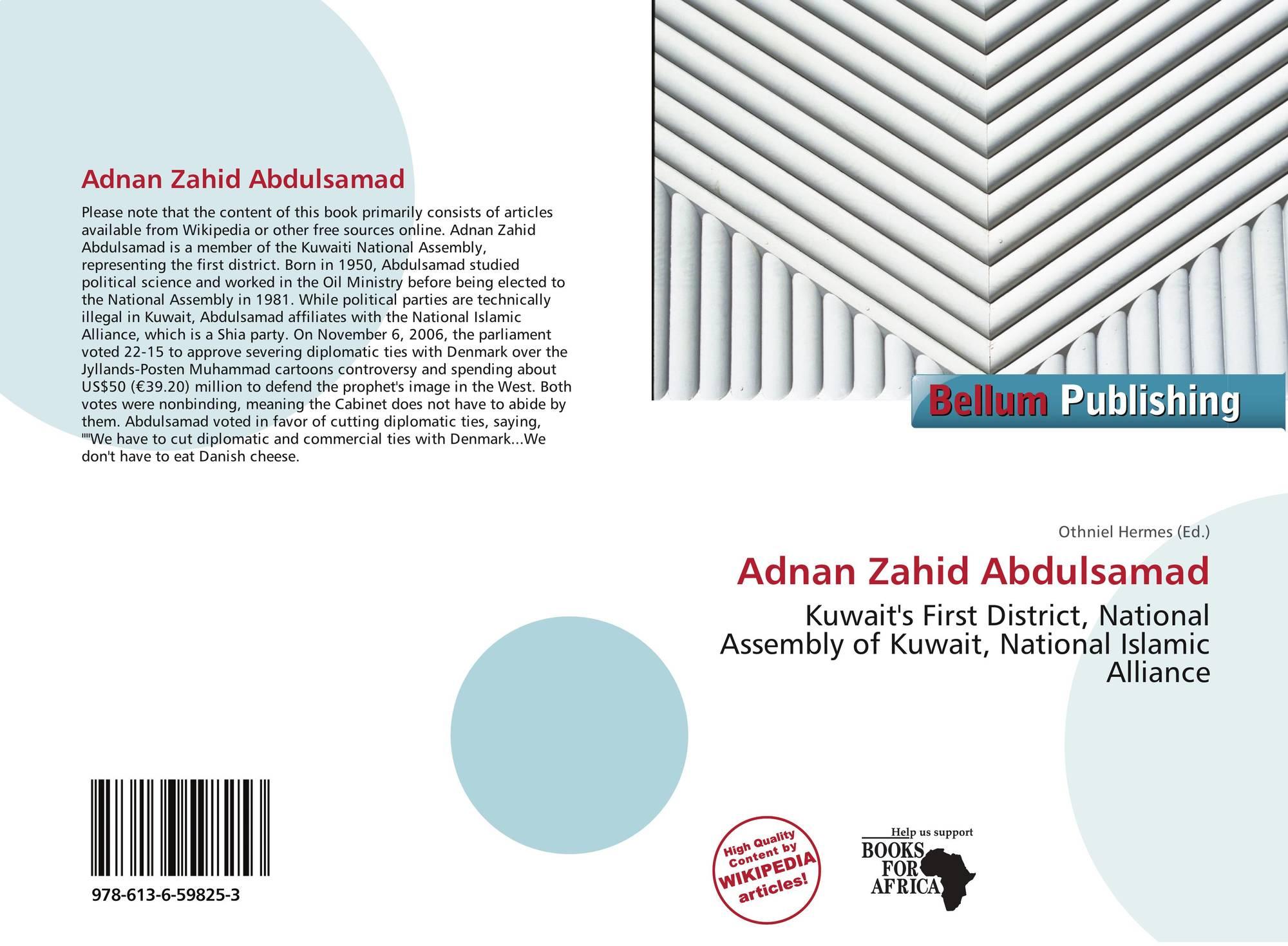 Adnan Zahid Abdulsamad