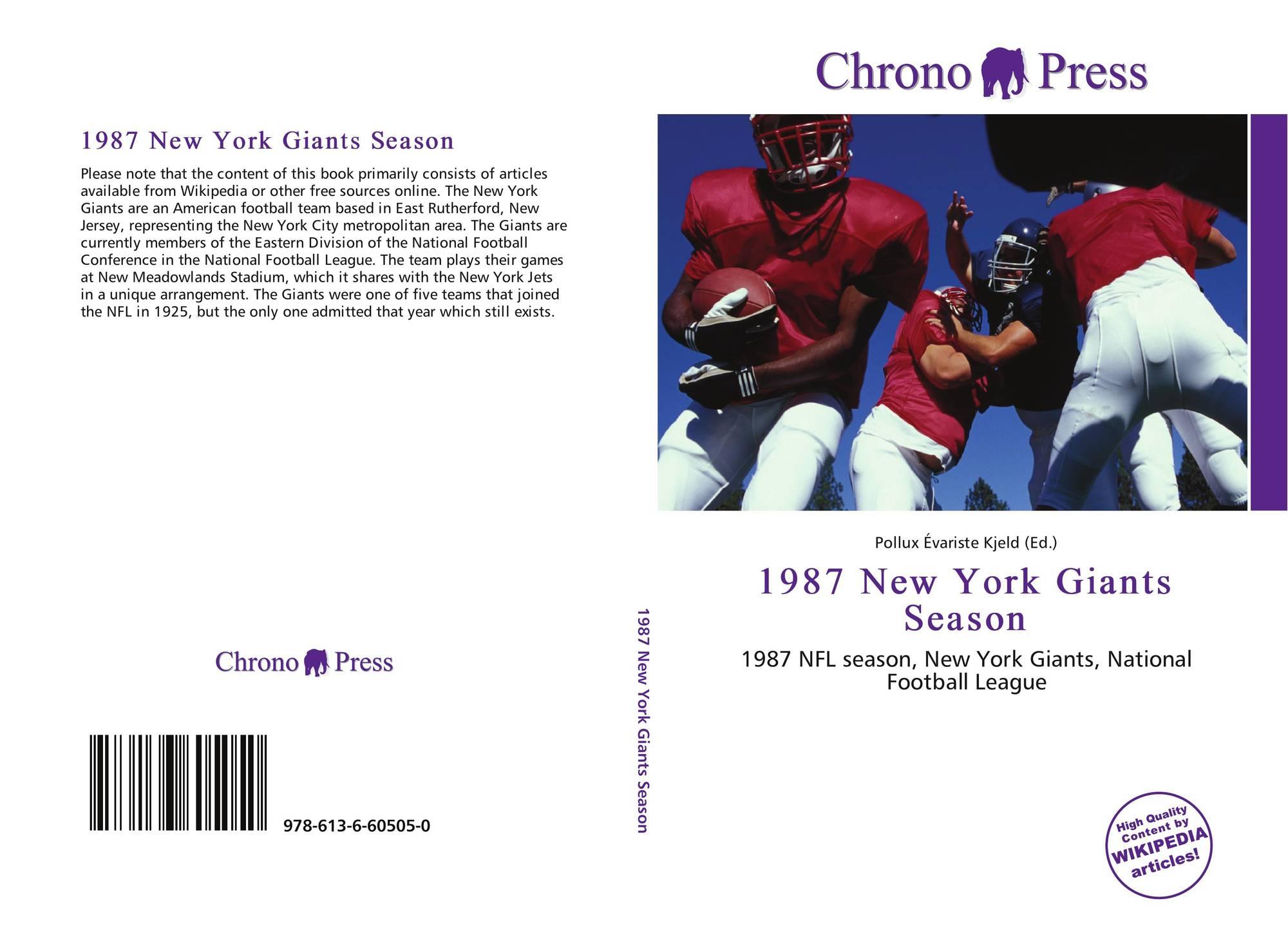 1987 New York Giants season