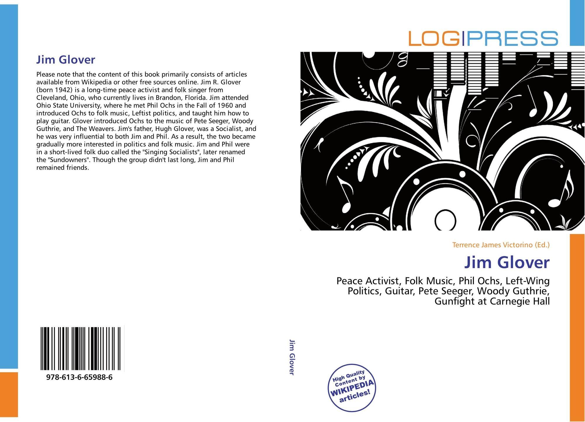 search results for glover bookcover of jim glover