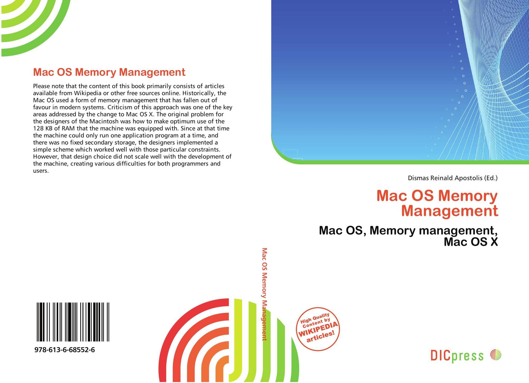 Mac OS Memory Management, 978-613-6-68552-6, 6136685523