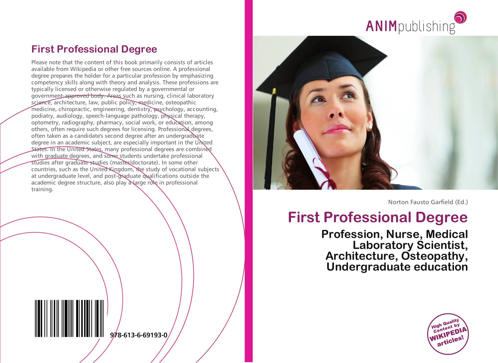 search results for british undergraduate degree classification bookcover of first professional degree