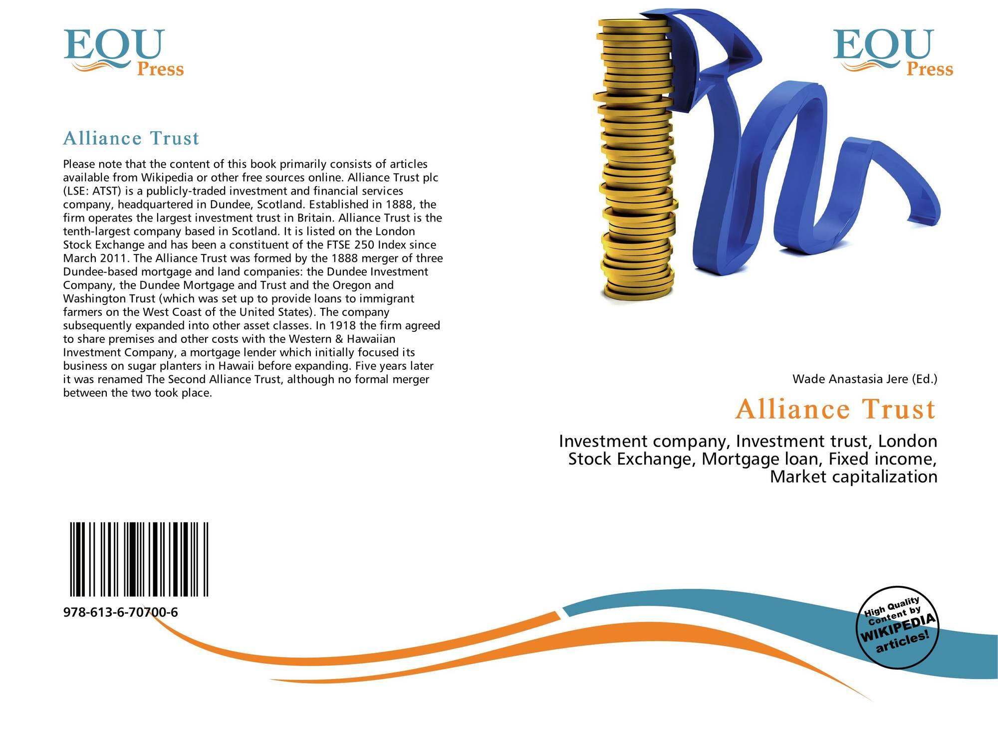 Alliance trust investments wikipedia focuri de primavera metaforex