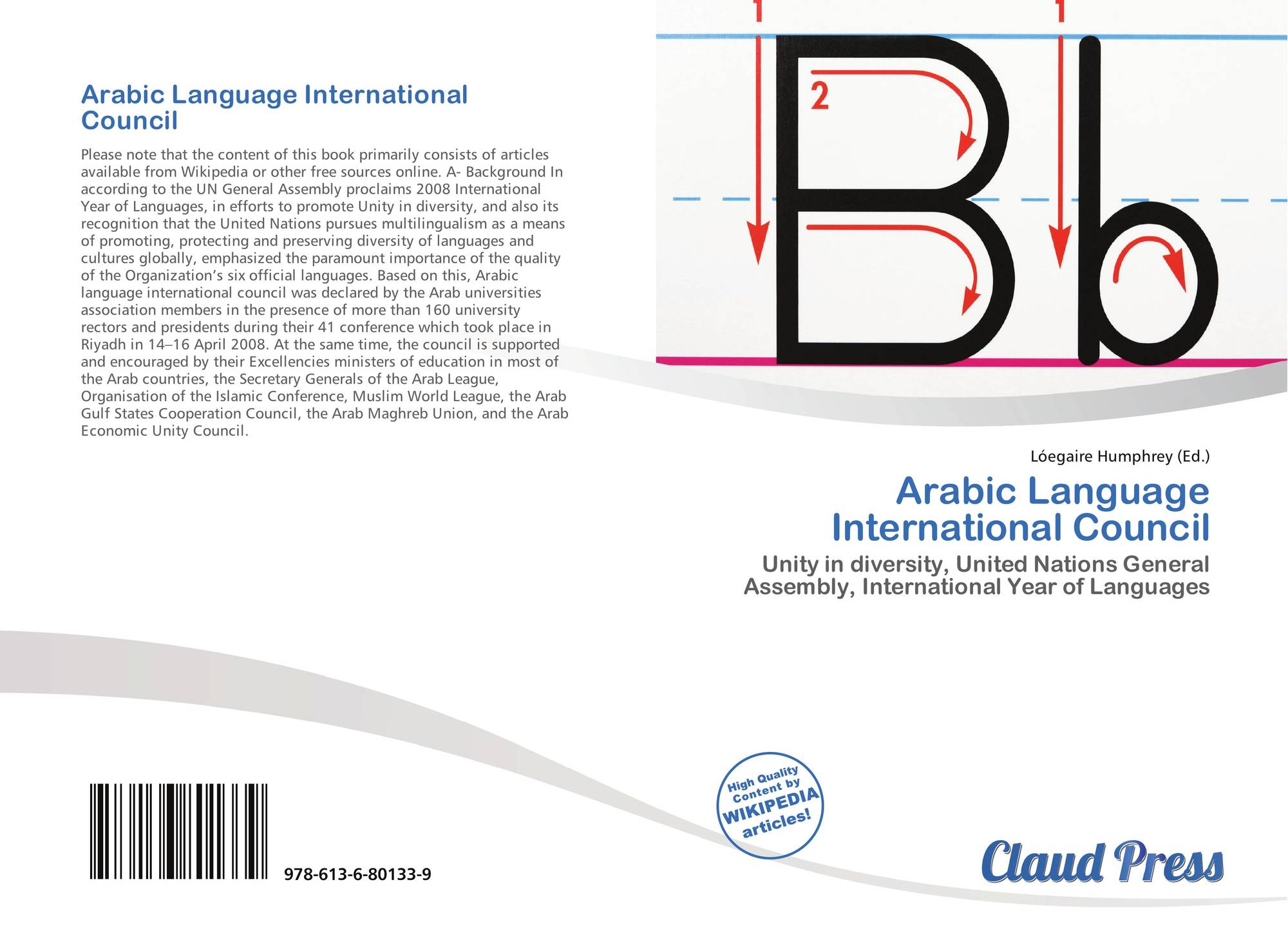 Arabic Language International Council, 978-613-6-80133-9, 6136801337