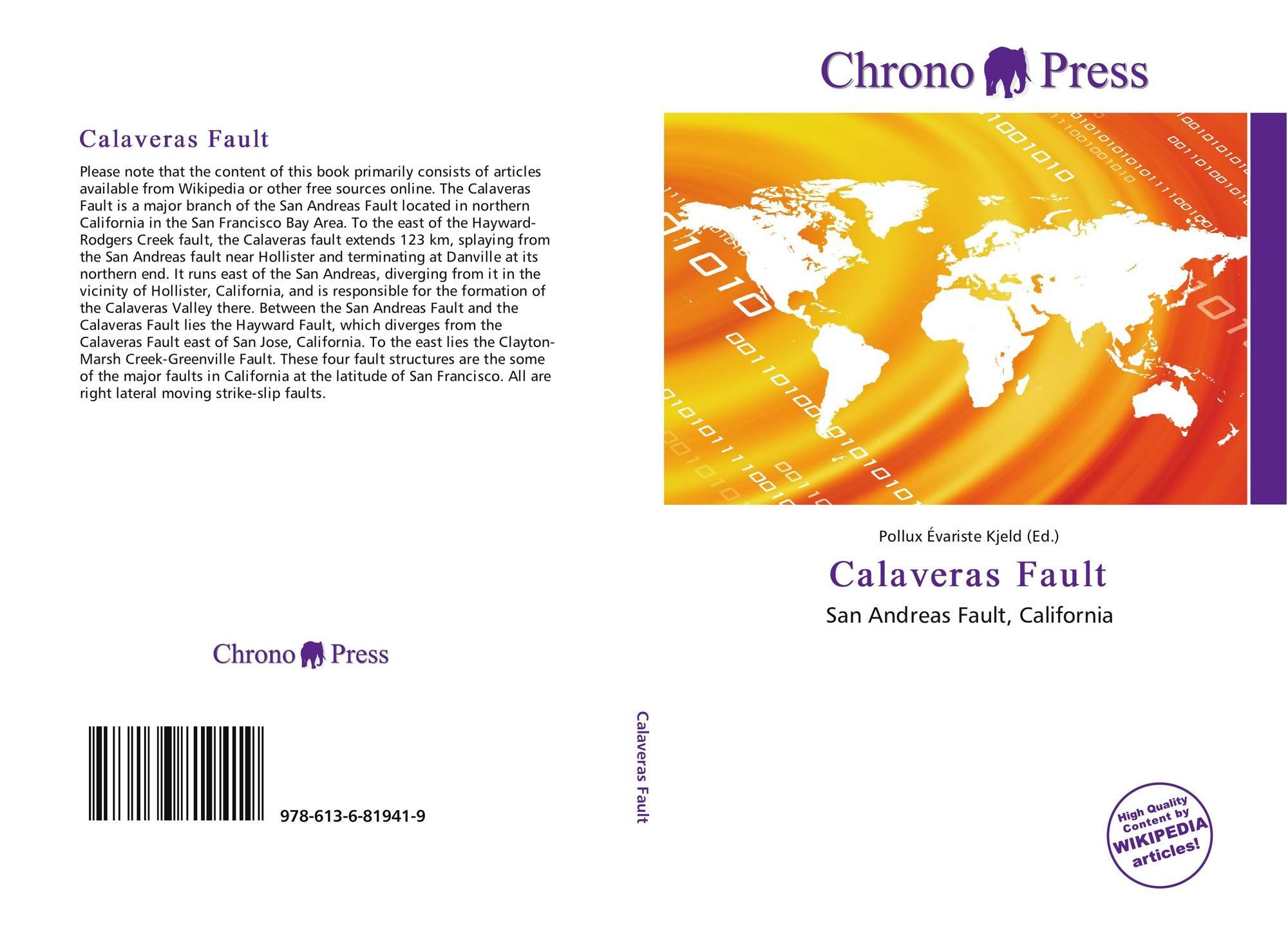 Amber Clayton Wikipedia calaveras fault, 978-613-6-81941-9, 6136819414 ,9786136819419