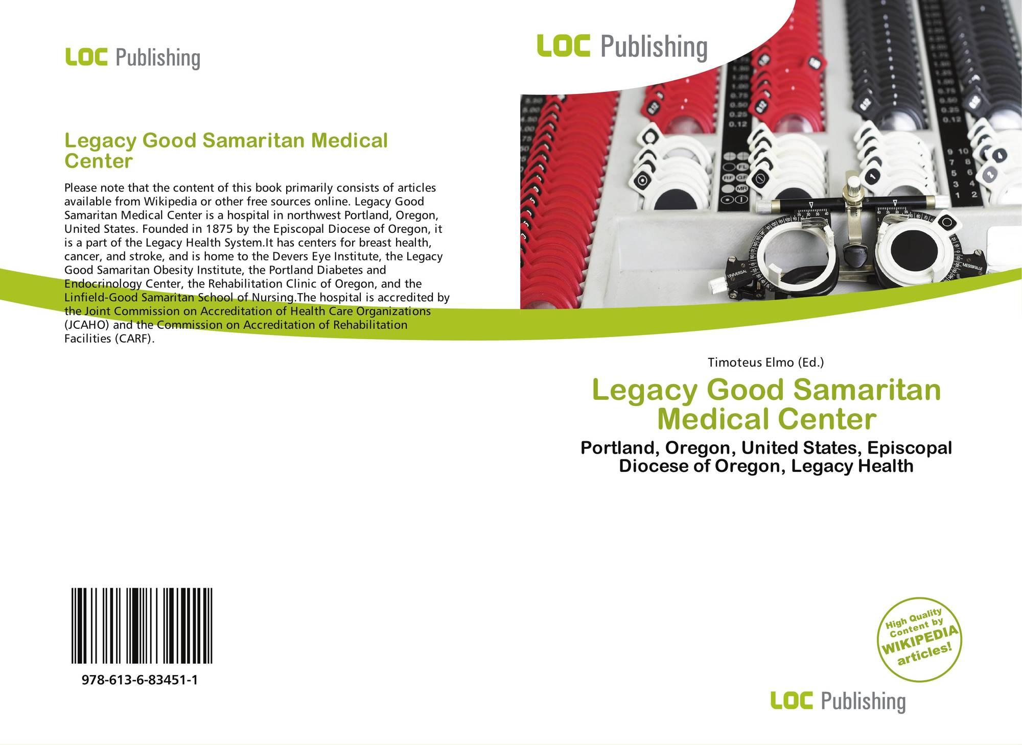 Legacy Good Samaritan Medical Center, 978-613-6-83451-1