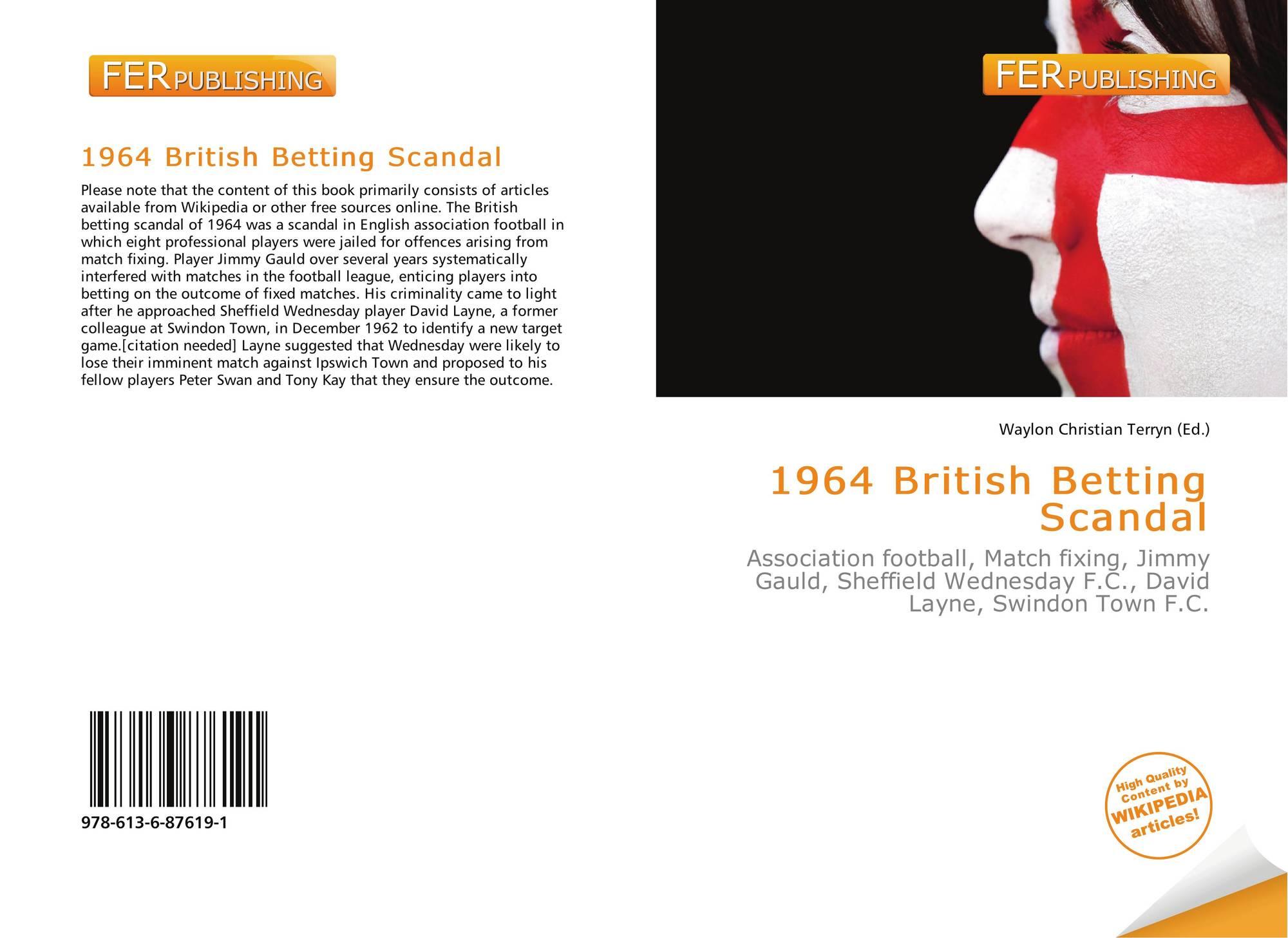 1964 british betting scandal football field cs go wild betting 2021 honda