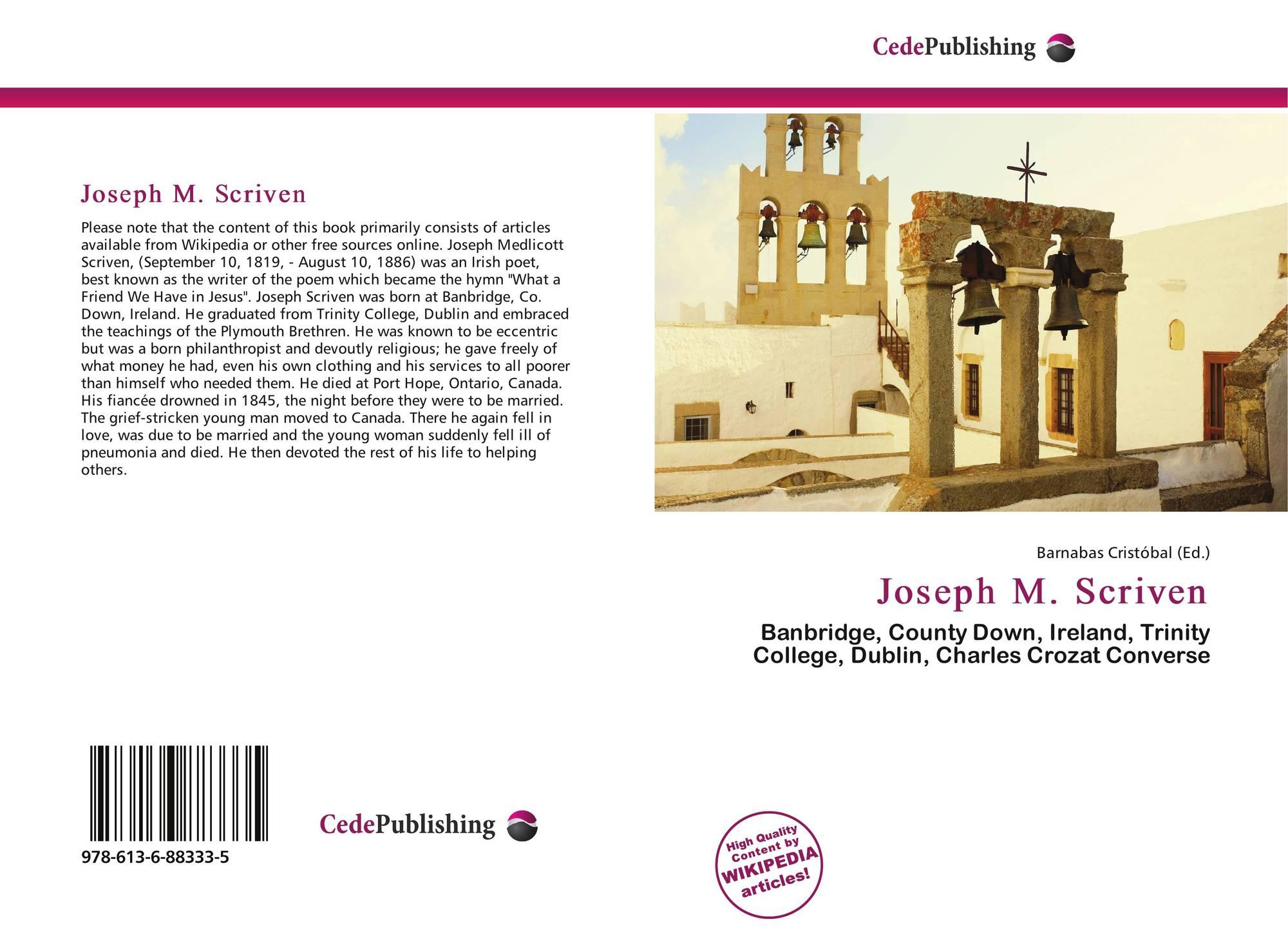 1c85bbbaa0cc Joseph M. Scriven
