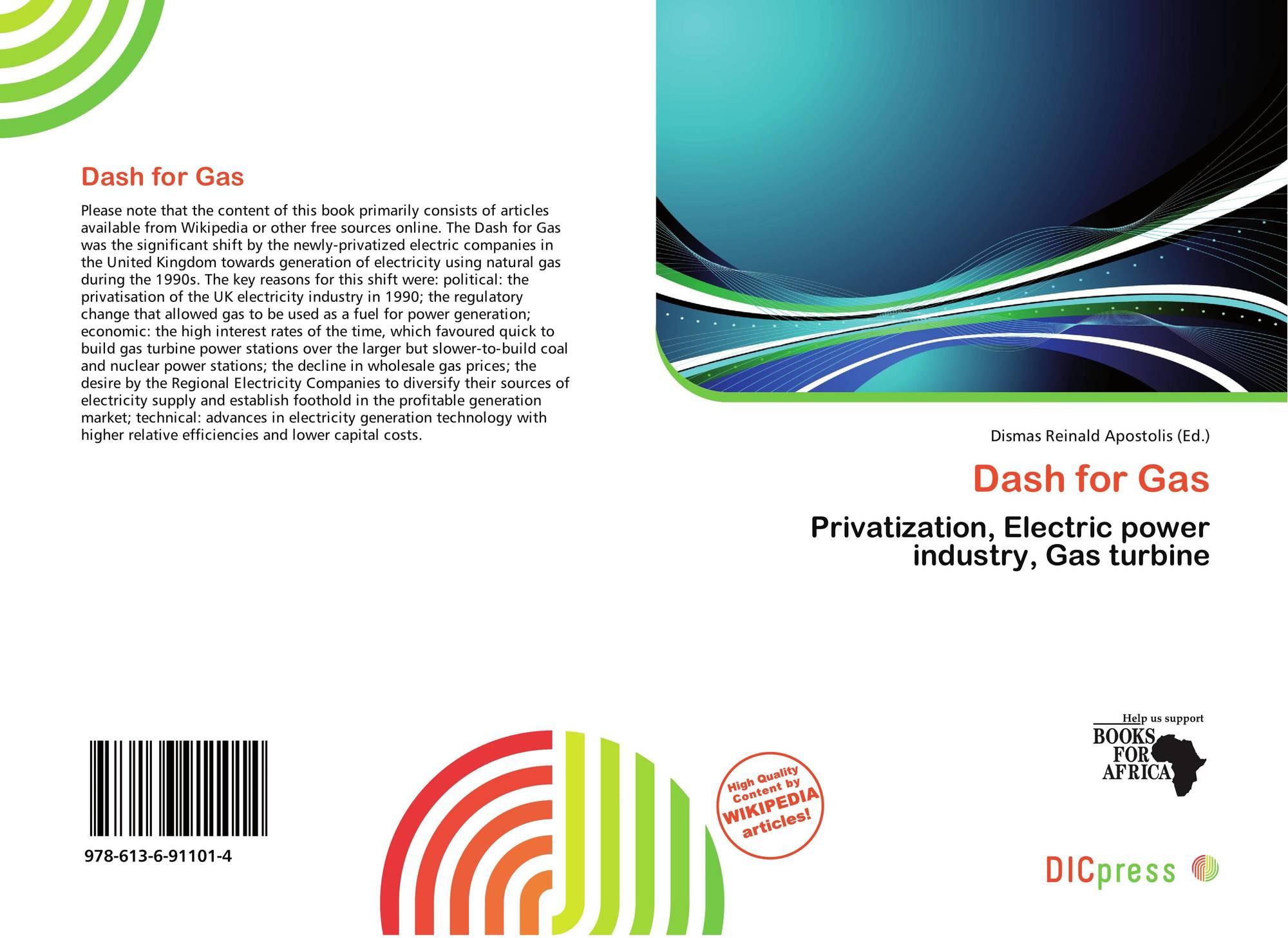 Dash for Gas 978 613 6 4