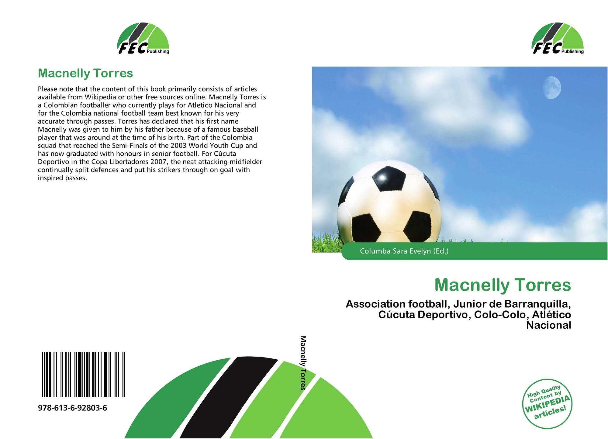 Macnelly Torres 978 613 6 92803 6 6136928035 9786136928036