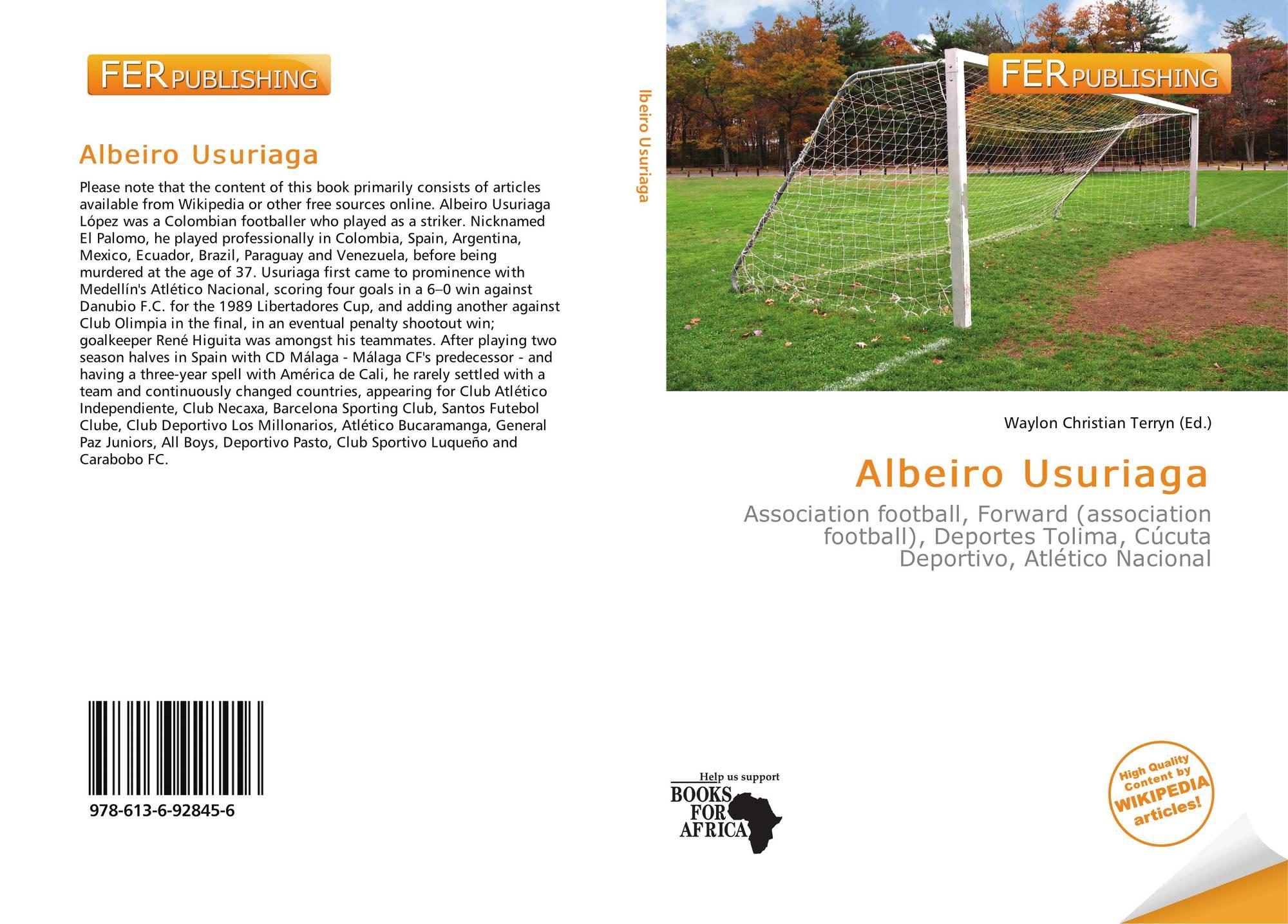 Albeiro Usuriaga 978 613 6 92845 6 6136928450 9786136928456