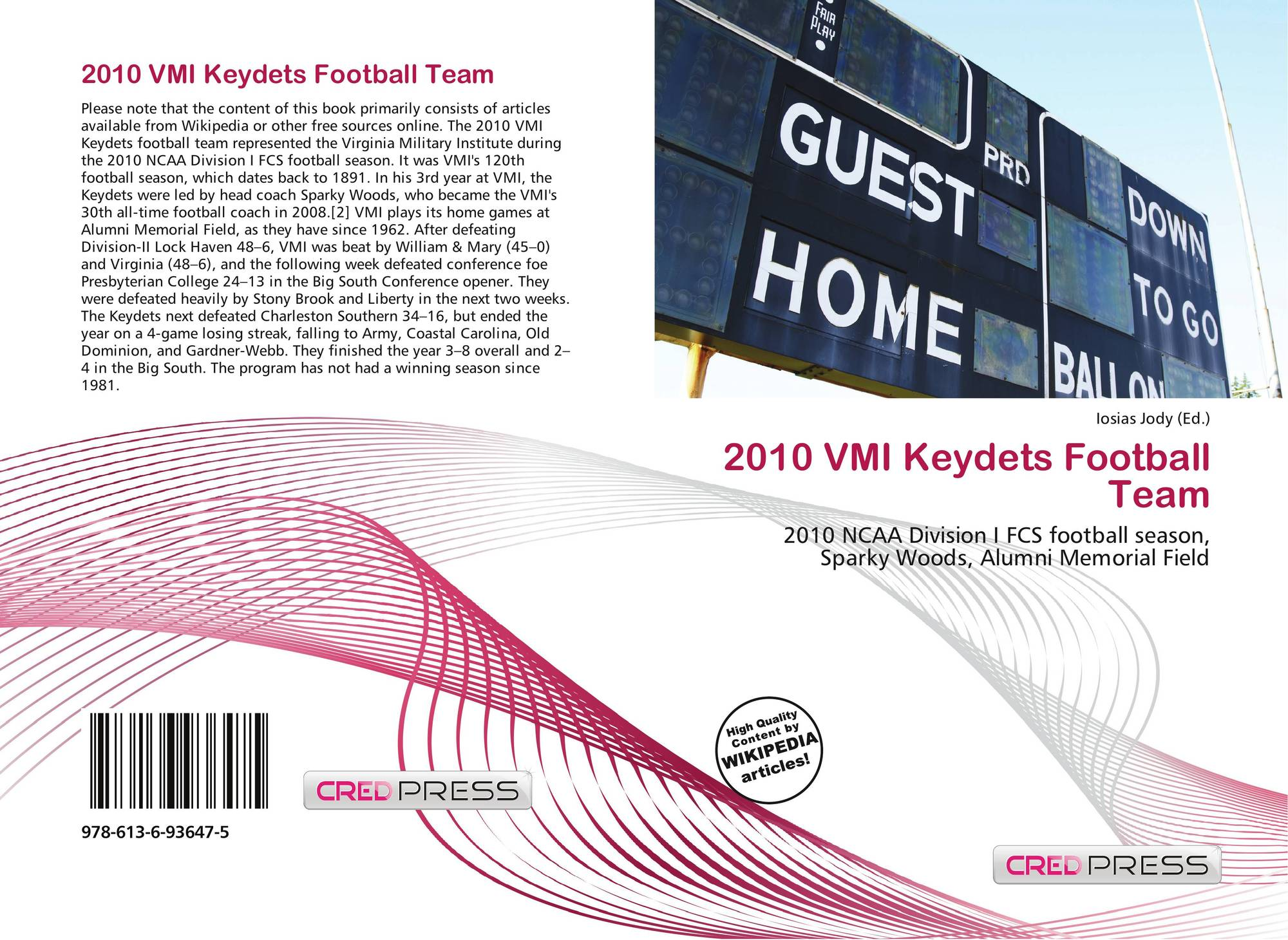 Search Results For Vmi Wiring Diagram Bookcover Of 2010 Keydets Football Team