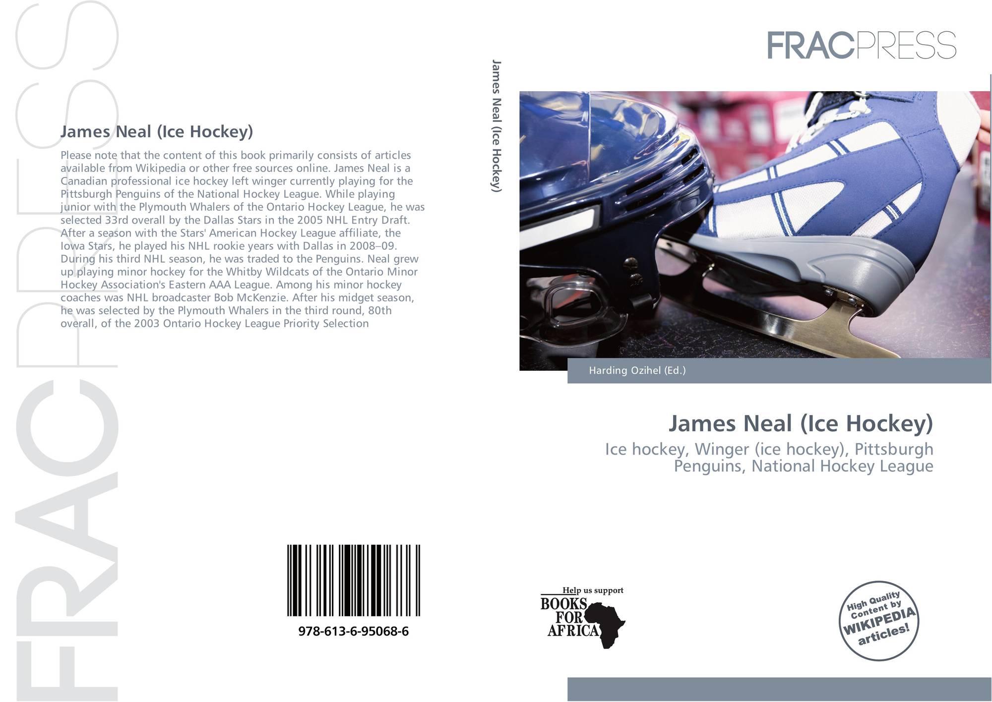 Bookcover of James Neal (Ice Hockey). 9786136950686 ba2b5bad9