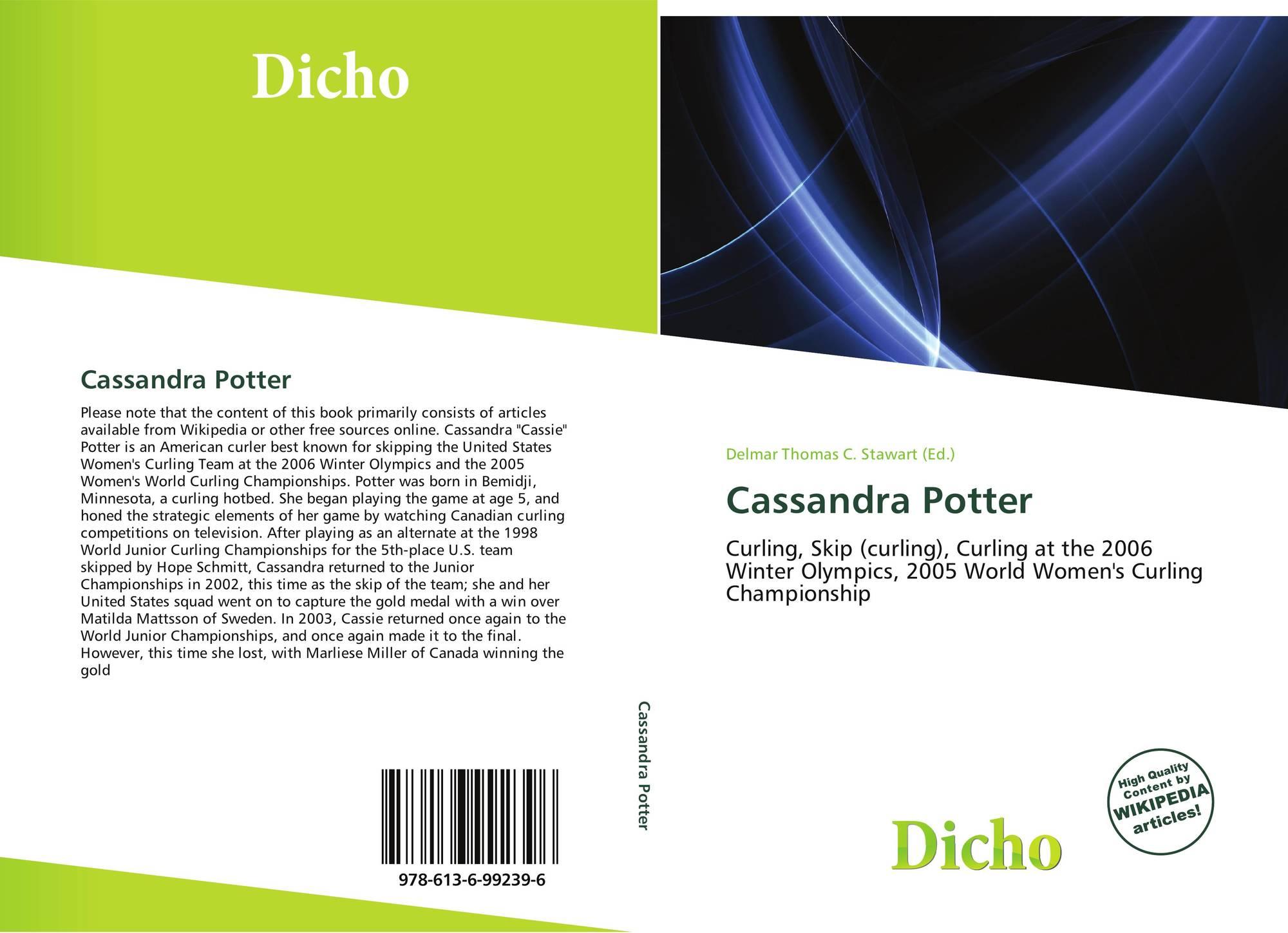 Cassandra Potter 978 613 6 99239 6136992396 9786136992396