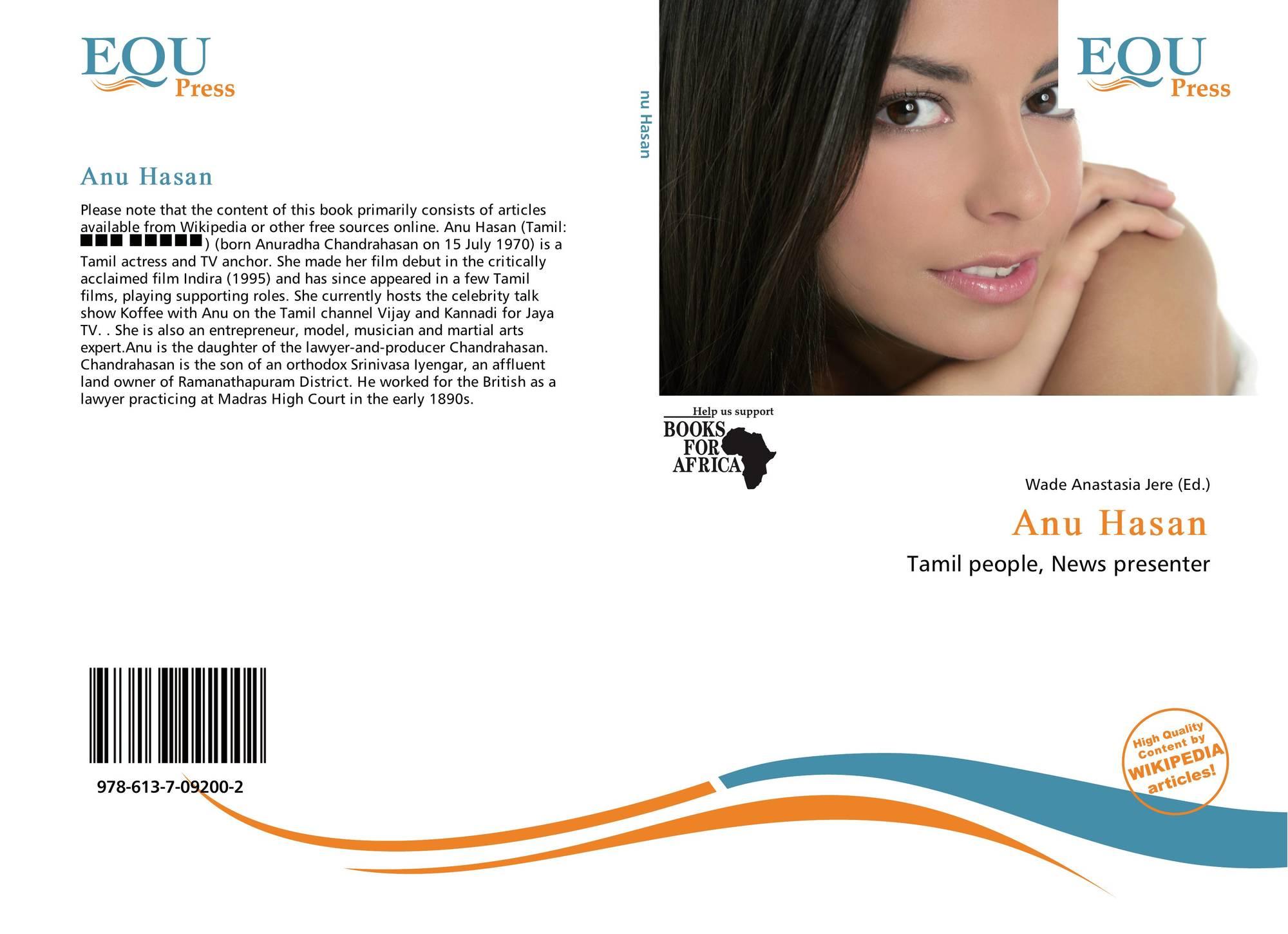 Bookcover Of Anu Hasan