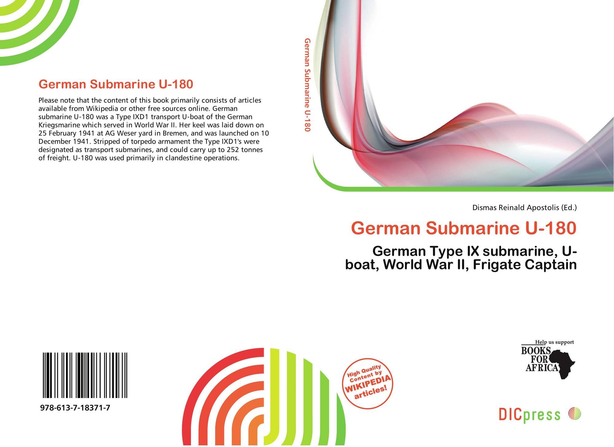 German Submarine U-180, 978-61...