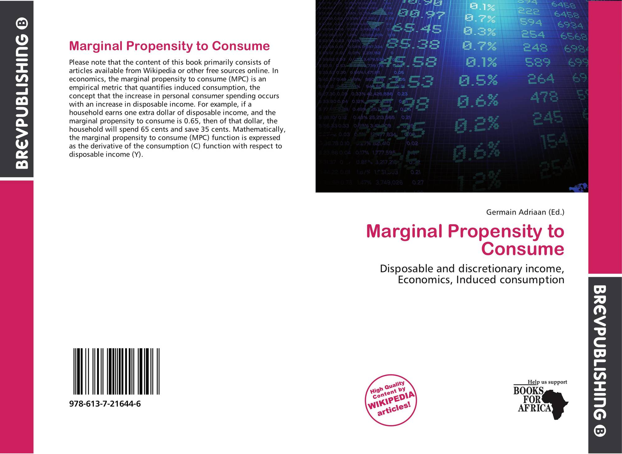 marginal propensity of consume in china