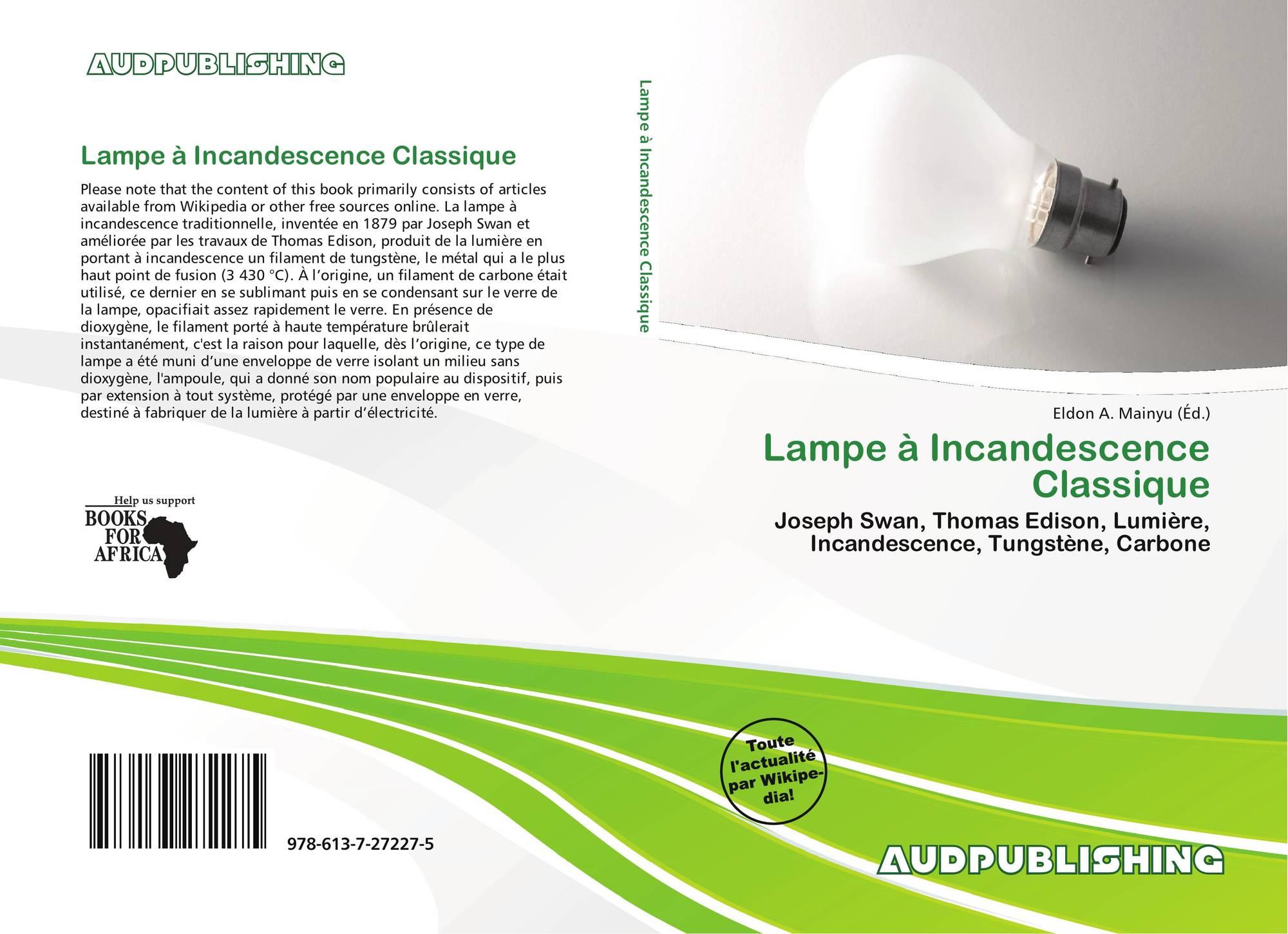 Lampe incandescence classique 978 613 7 27227 5 6137272273 9786137272275 - Lampe a incandescence classique ...