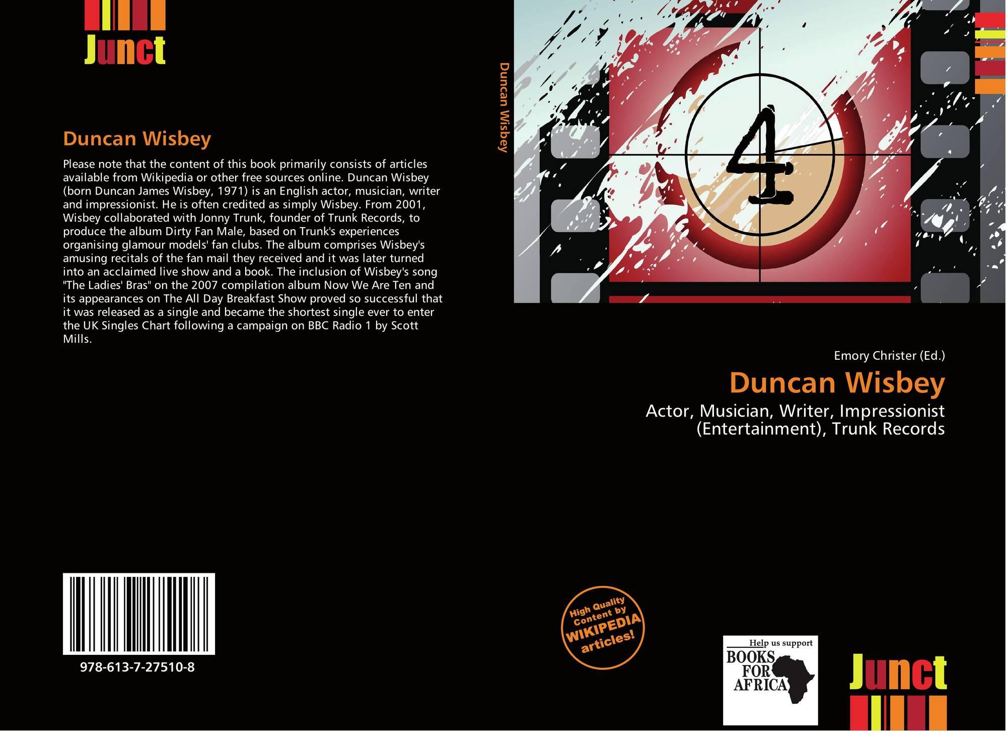 Duncan Wisbey (born 1971)