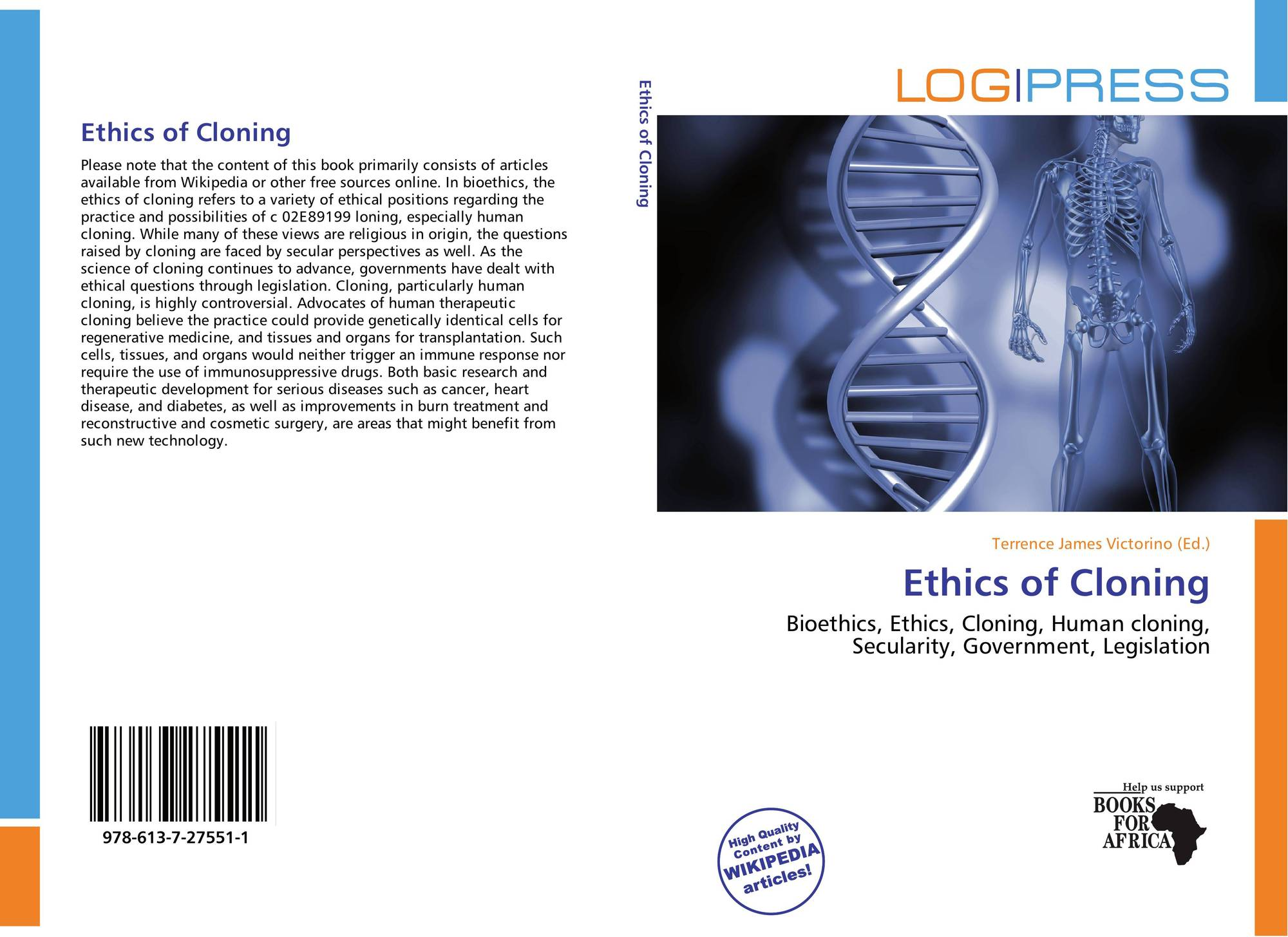 the positive negative and ethical aspects of human cloning Unlike most editing & proofreading services, we edit for everything: grammar, spelling, punctuation, idea flow, sentence structure, & more get started now.
