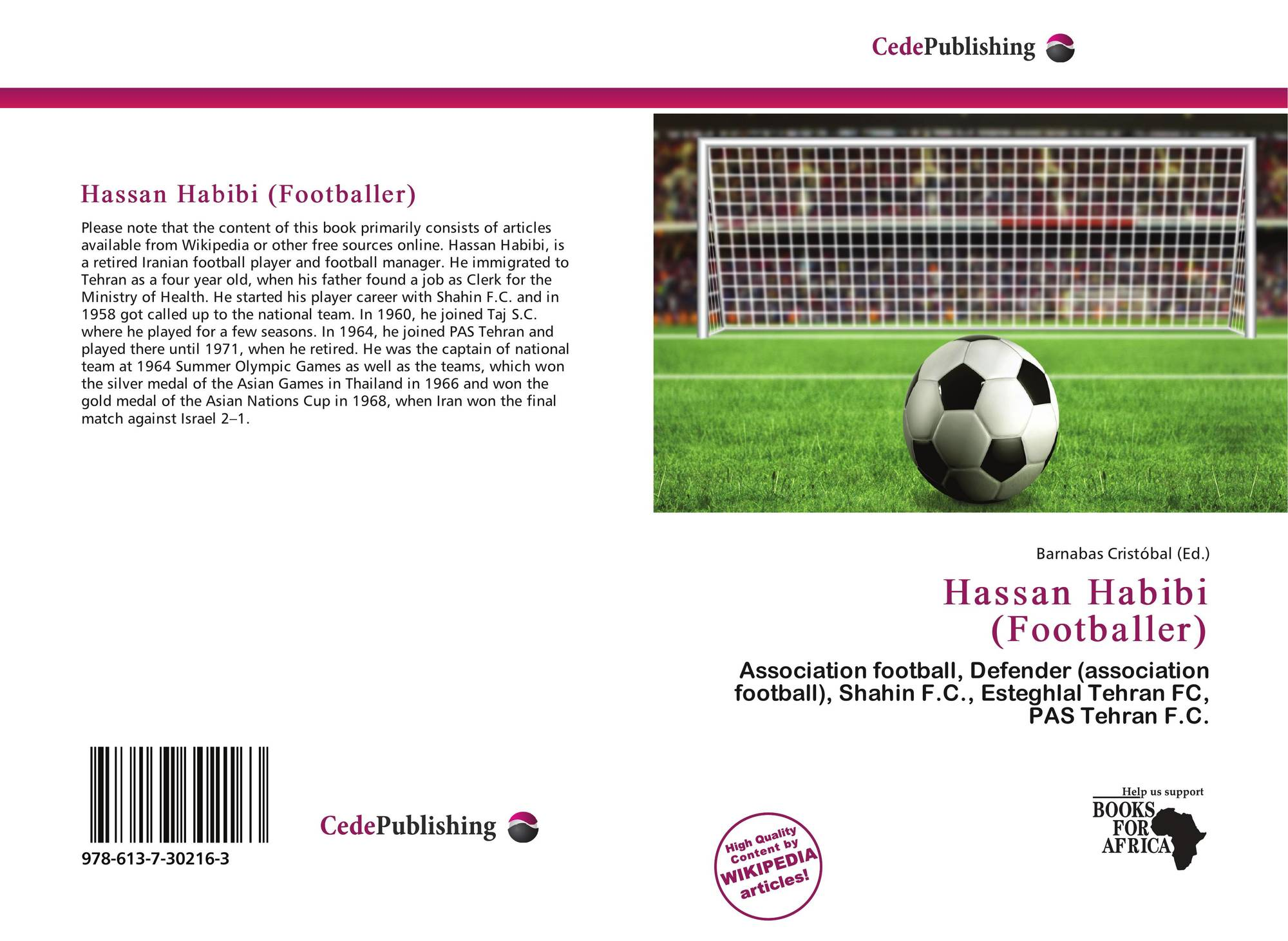 Bookcover of Hassan Habibi (Footballer)