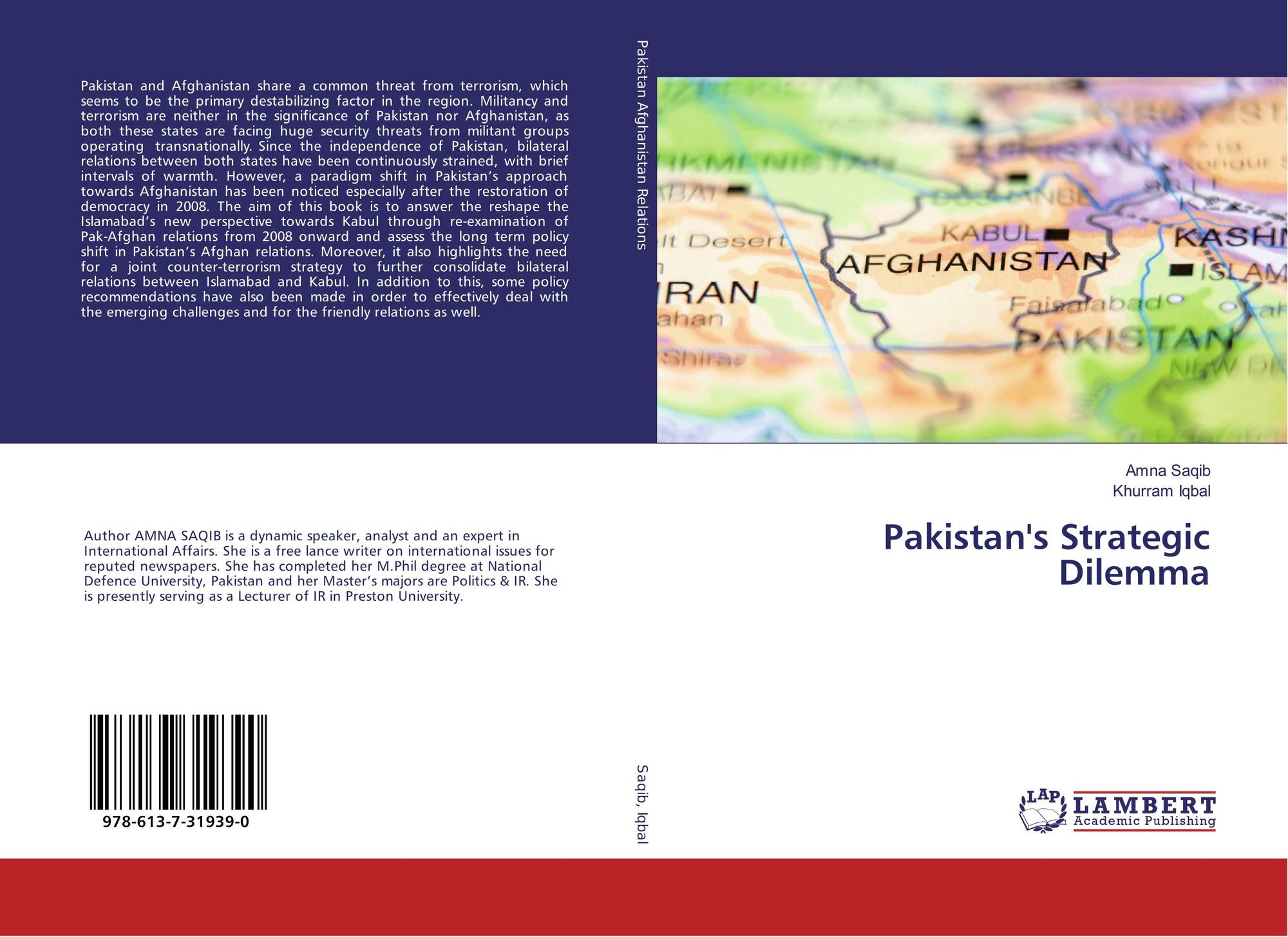 Pakistan's Strategic Dilemma, 978-613-7-31939-0, 6137319393