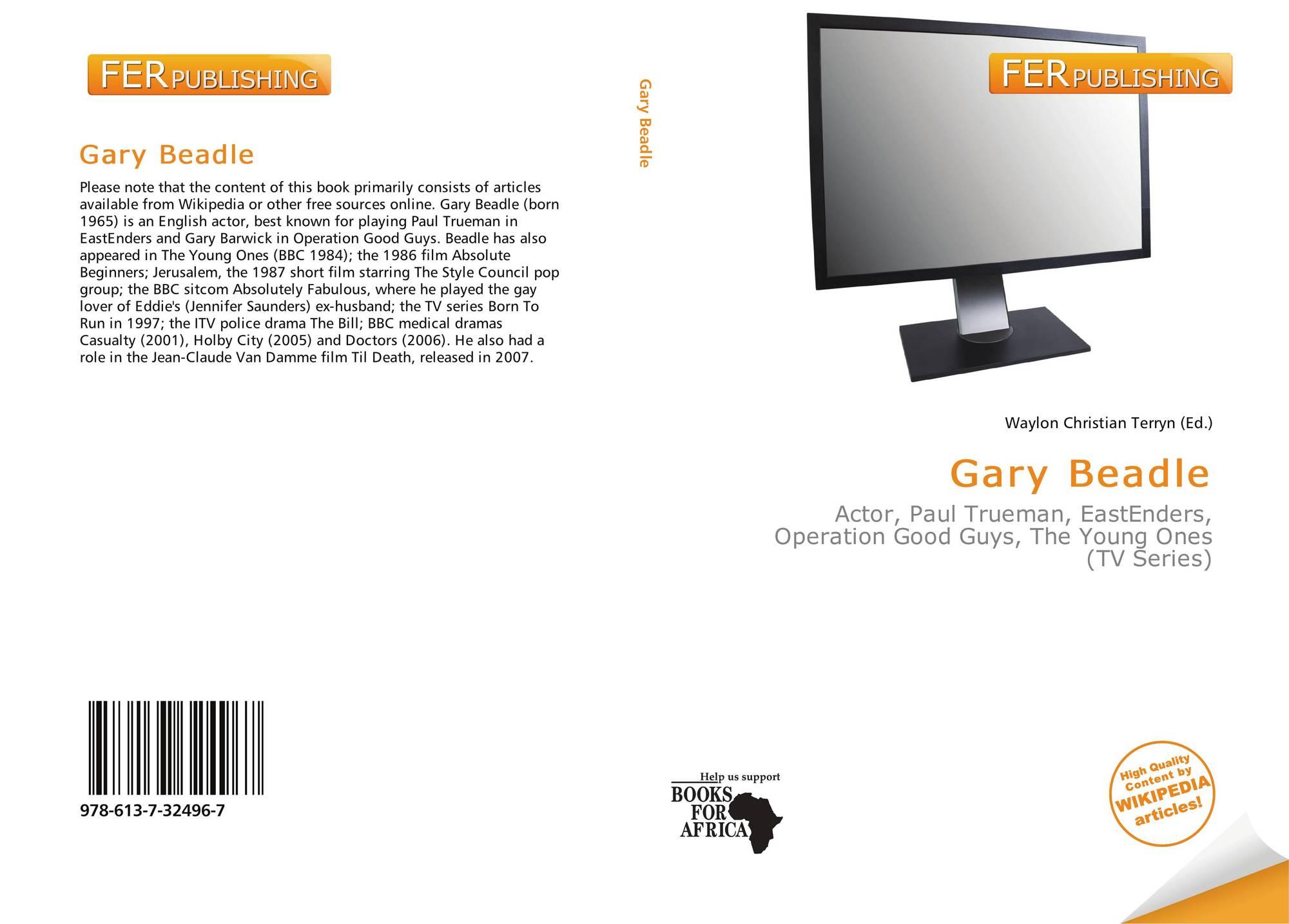 Gary Beadle 978 613 7 32496 7 6137324966 9786137324967