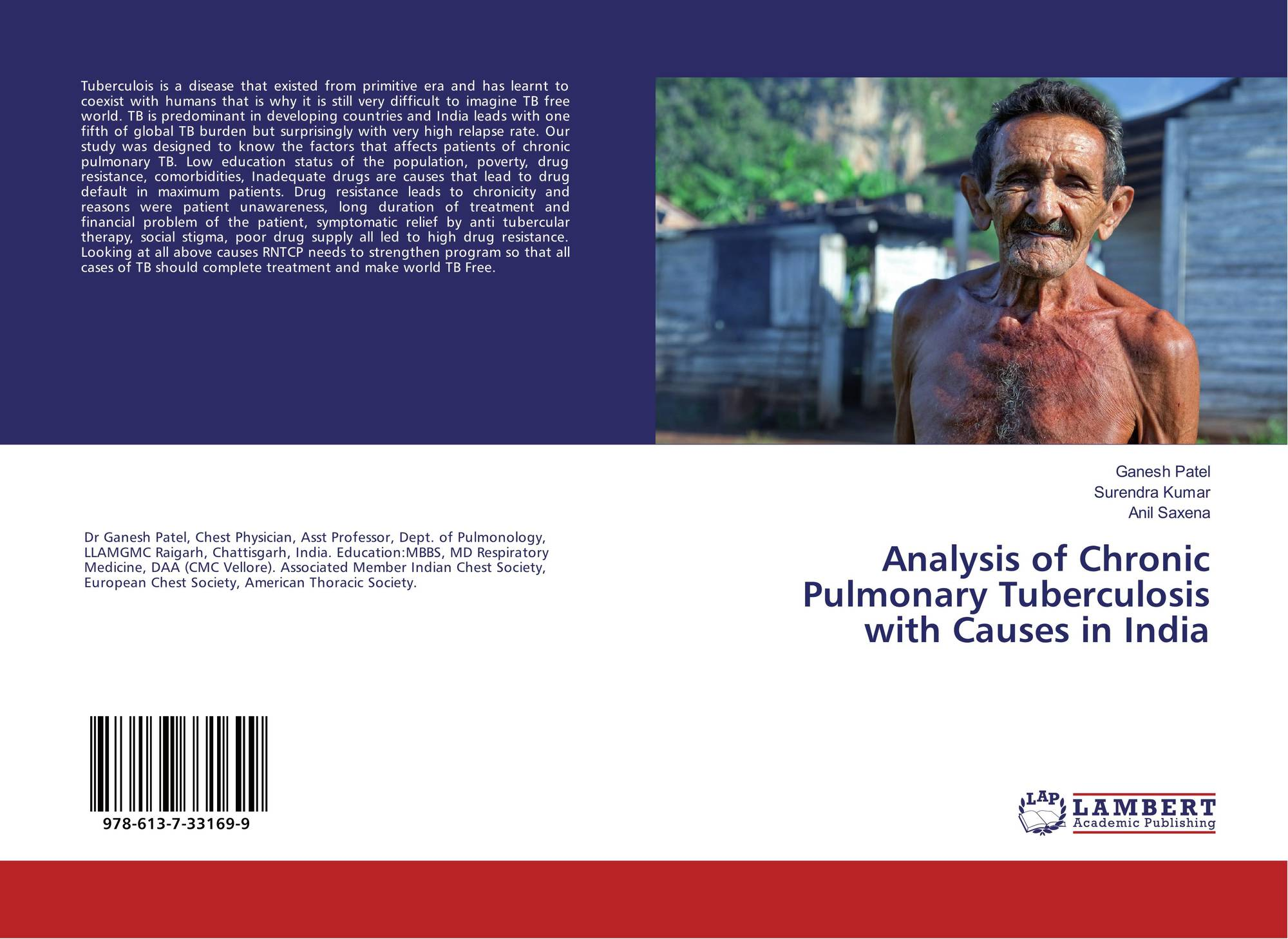 Analysis of Chronic Pulmonary Tuberculosis with Causes in