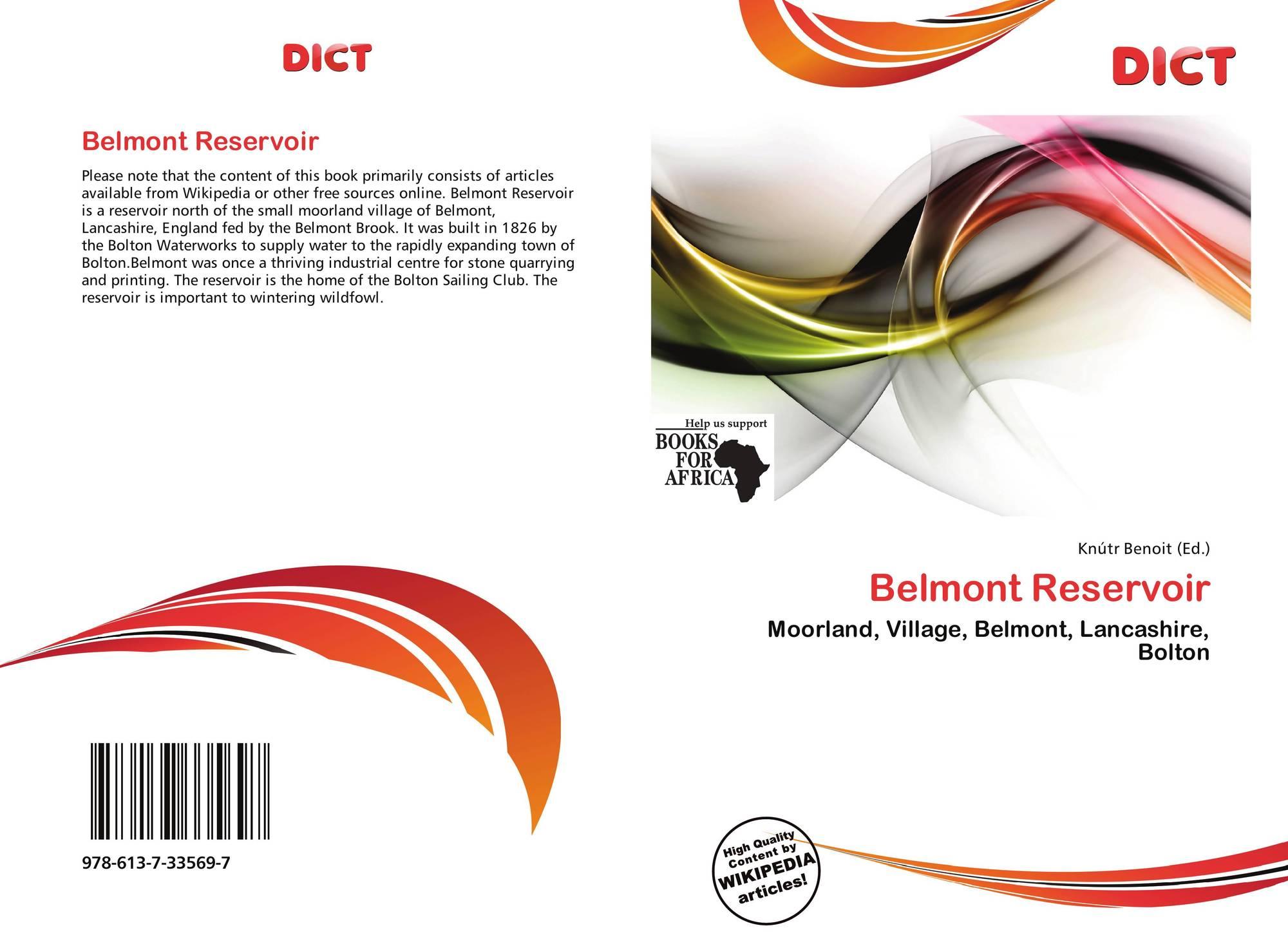 Ohio belmont county flushing - Bookcover Of Belmont Reservoir