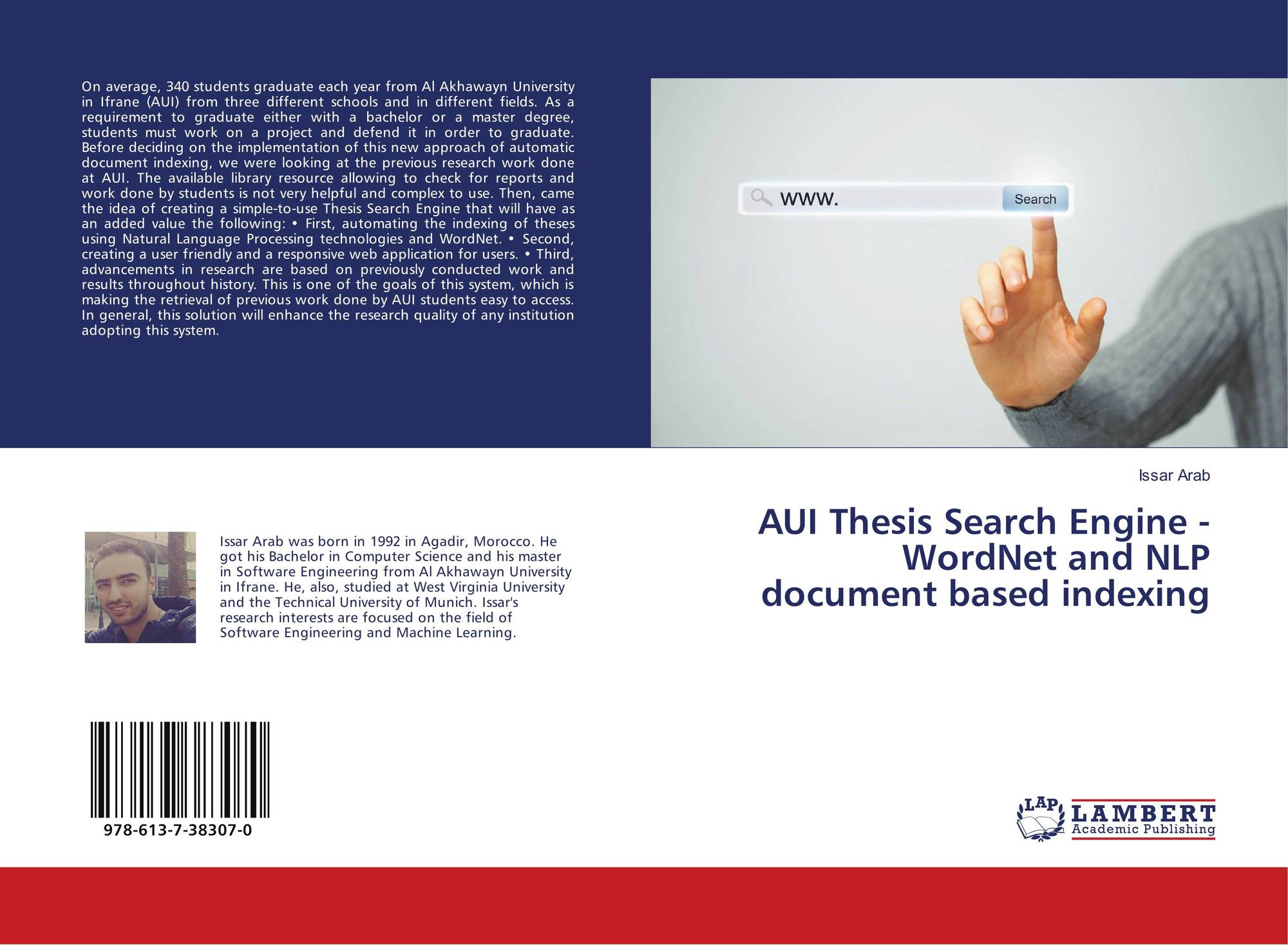 thesis on search engine All theses tools are advanced and will provide effective searching hence from the above study over the concept of search engine optimization and its.