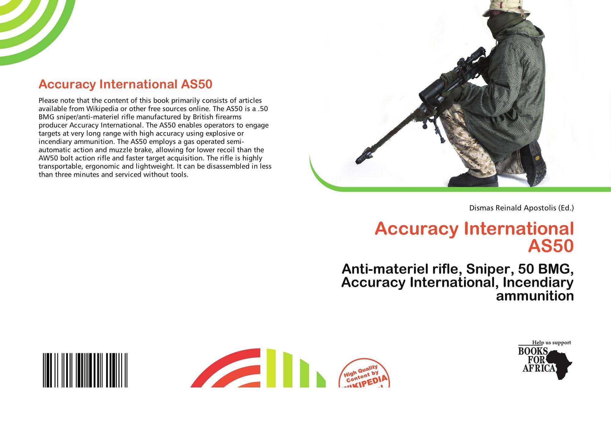 Accuracy International AS50, 978-613-7-41619-8, 6137416194