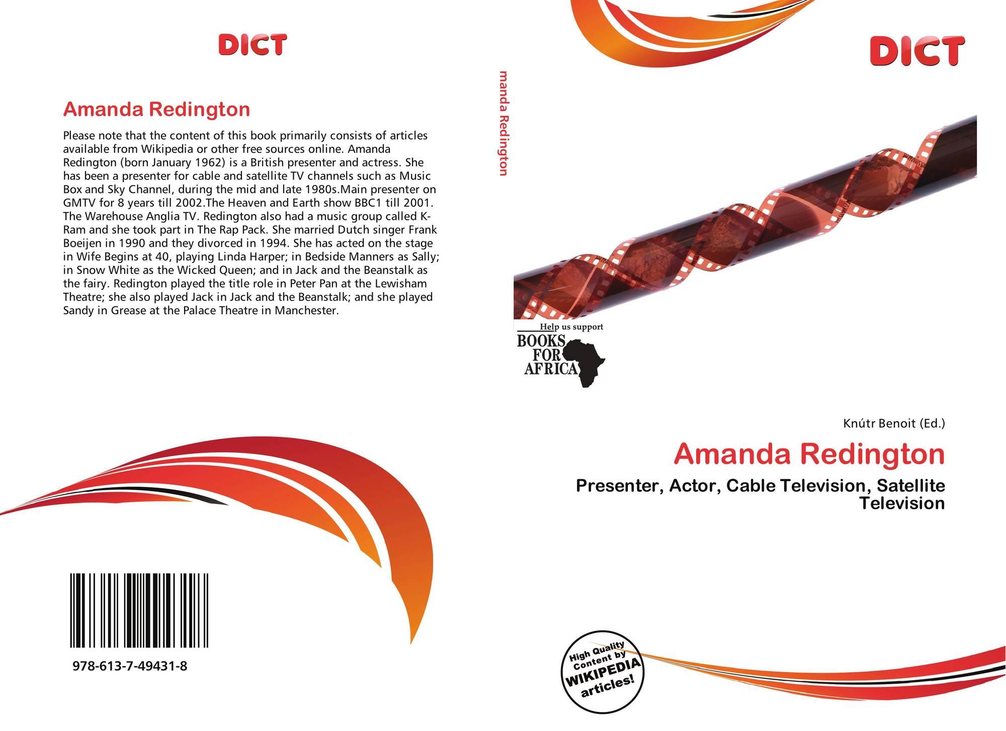 Amanda Redington amanda redington, 978-613-7-49431-8, 6137494314 ,9786137494318