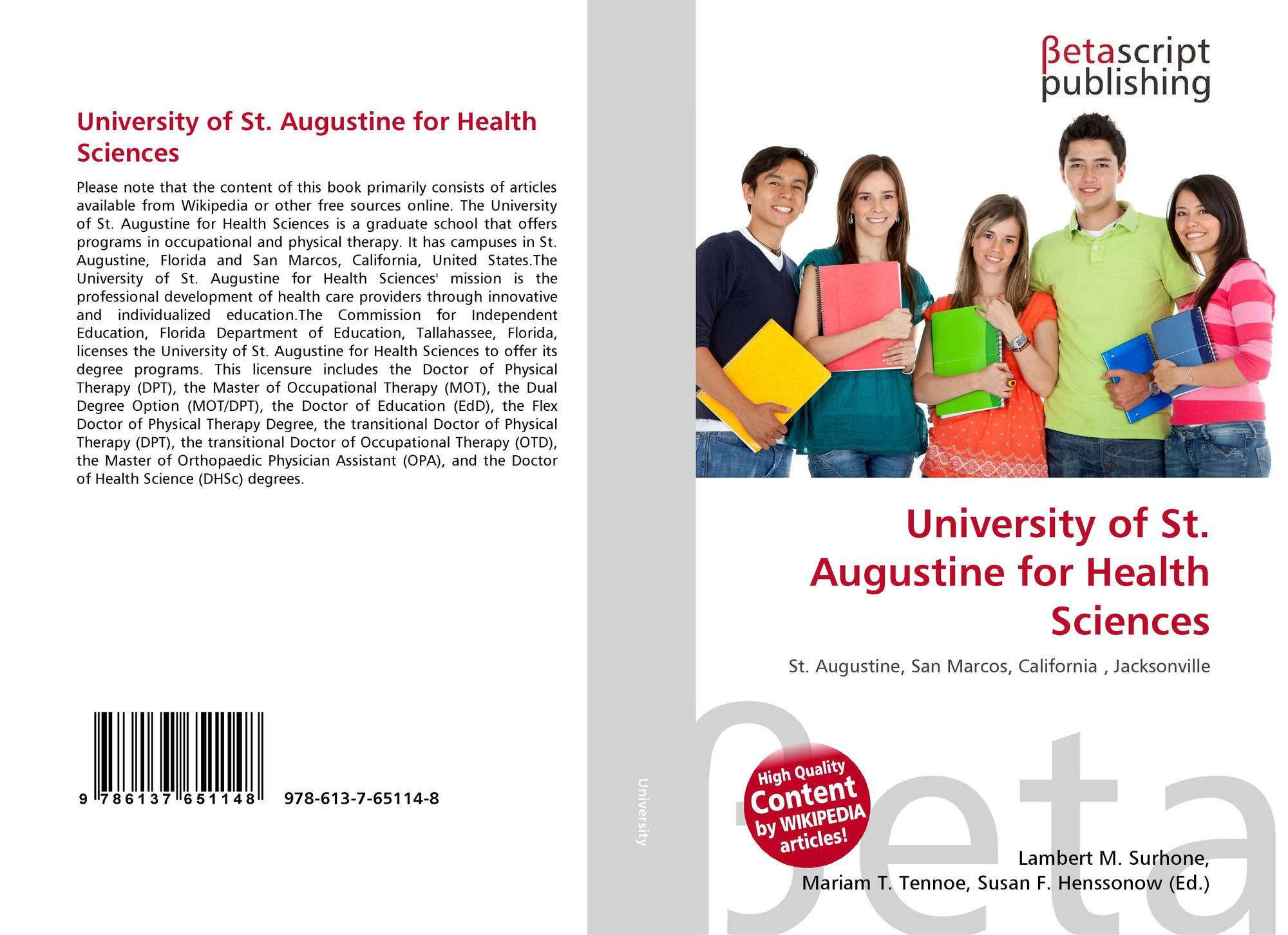 university of st augustine interview essay