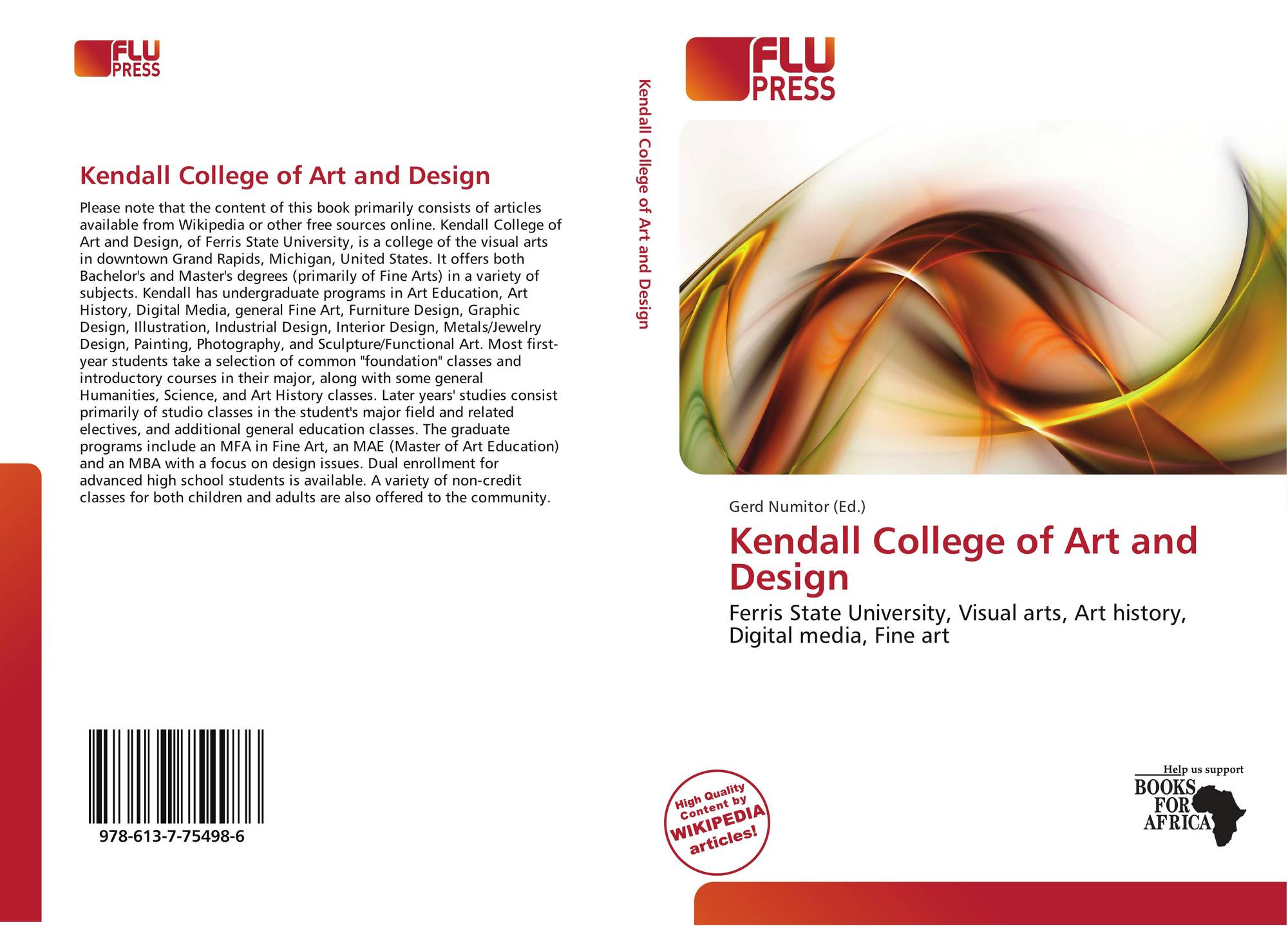 Kendall College Of Art And Design Of Ferris State University