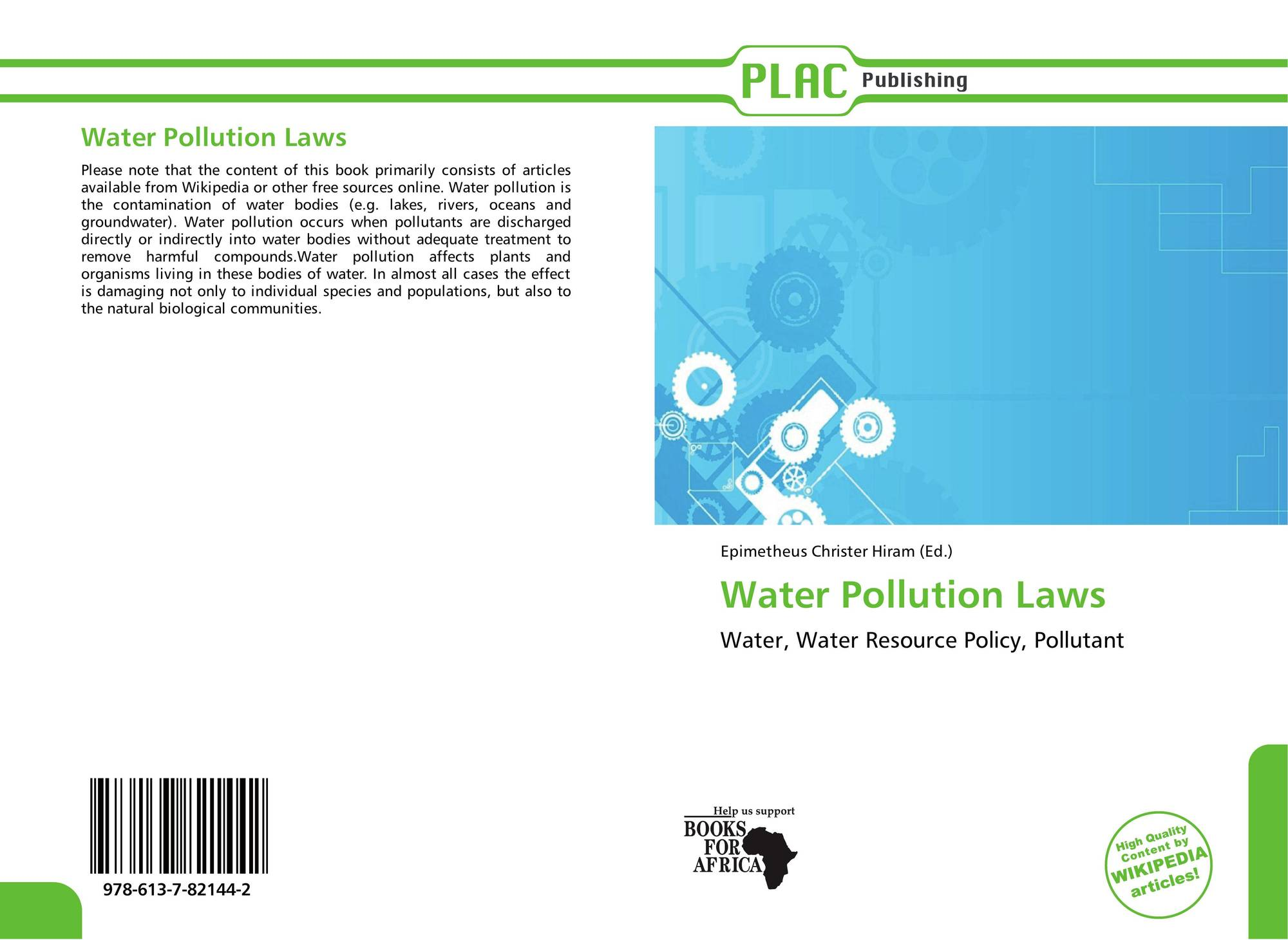 water pollution and paper water resource A number of key messages emerge from the foregoing discussion of water resources demand for these limited resources continues to increase as populations grow and move.