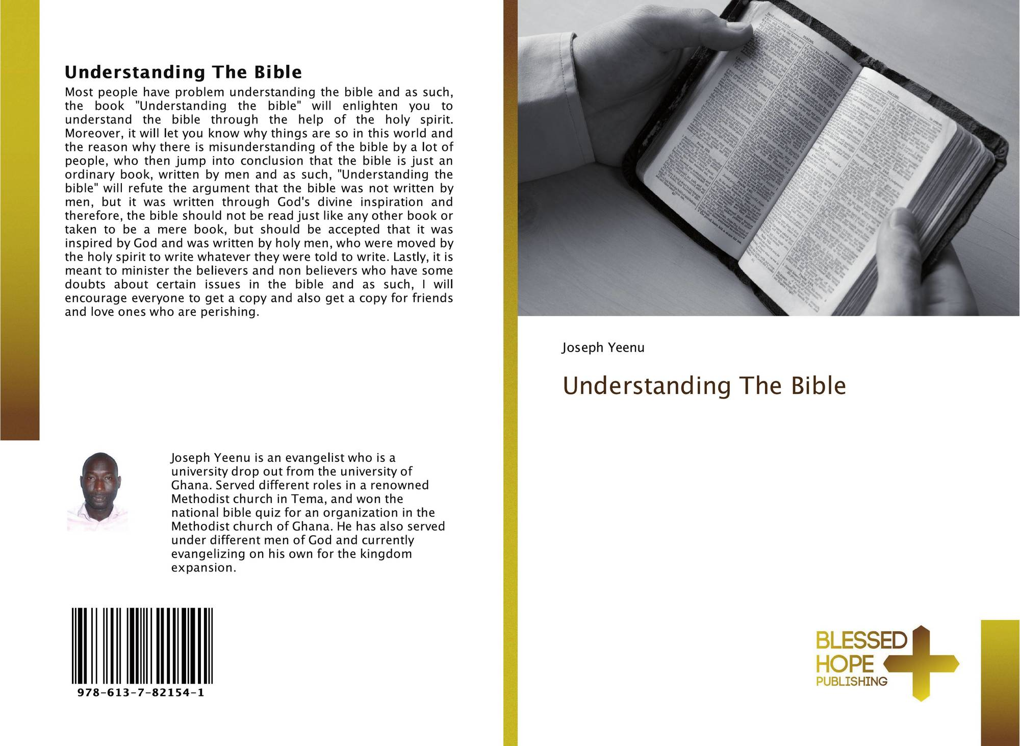 Understanding The Bible, 978-613-7-82154-1, 6137821544