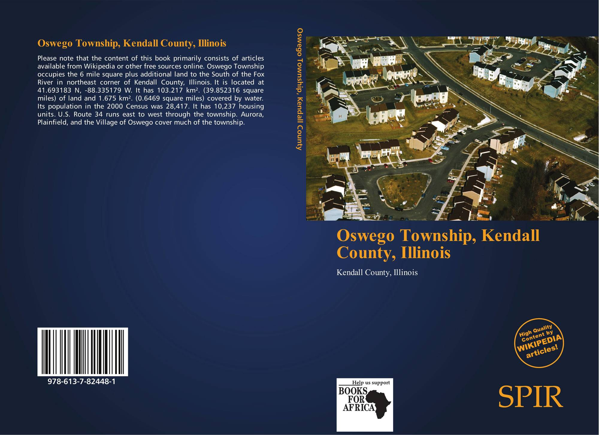 Illinois kendall county oswego - Bookcover Of Oswego Township Kendall County Illinois