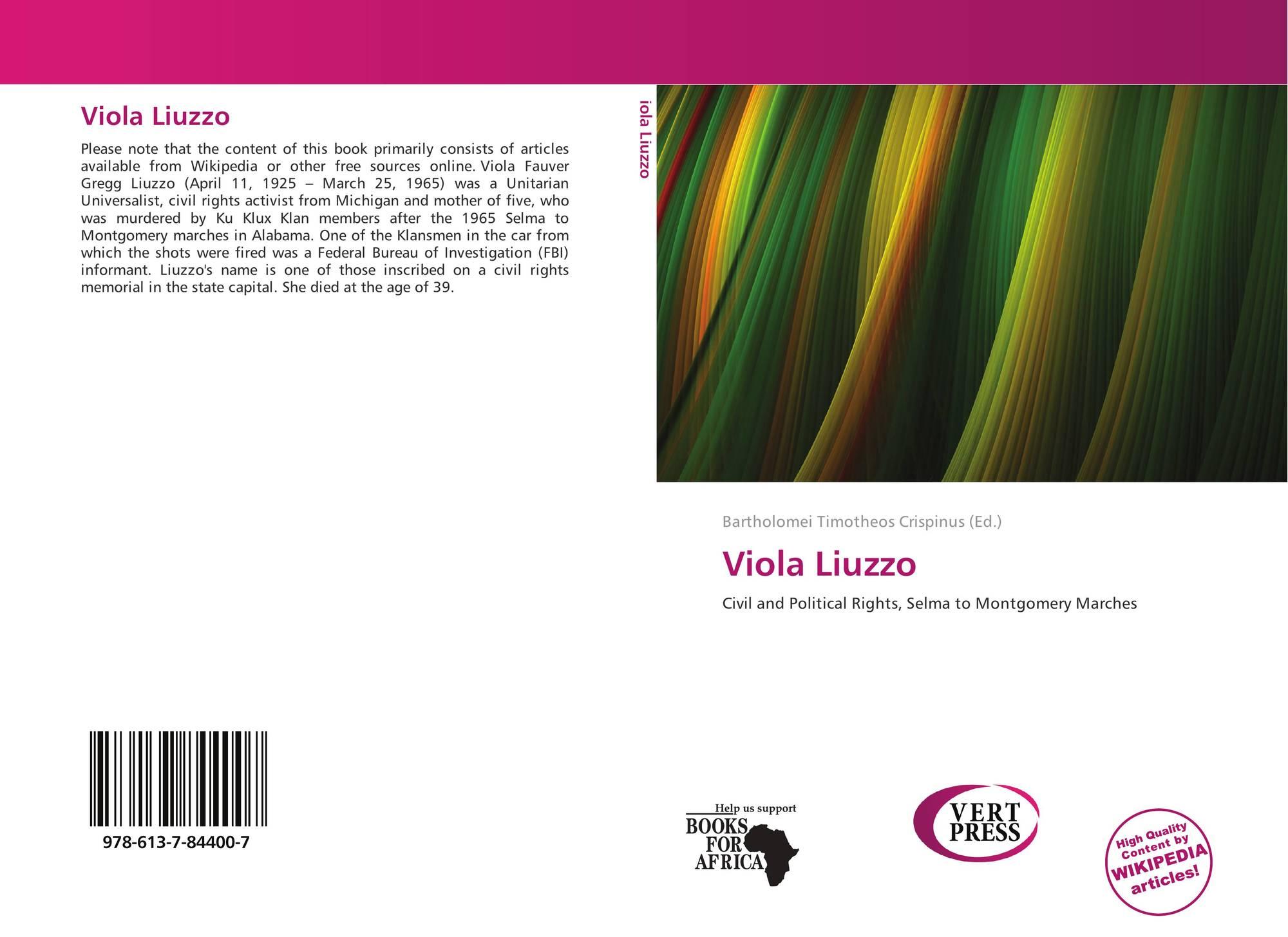 viol liuzzo essay