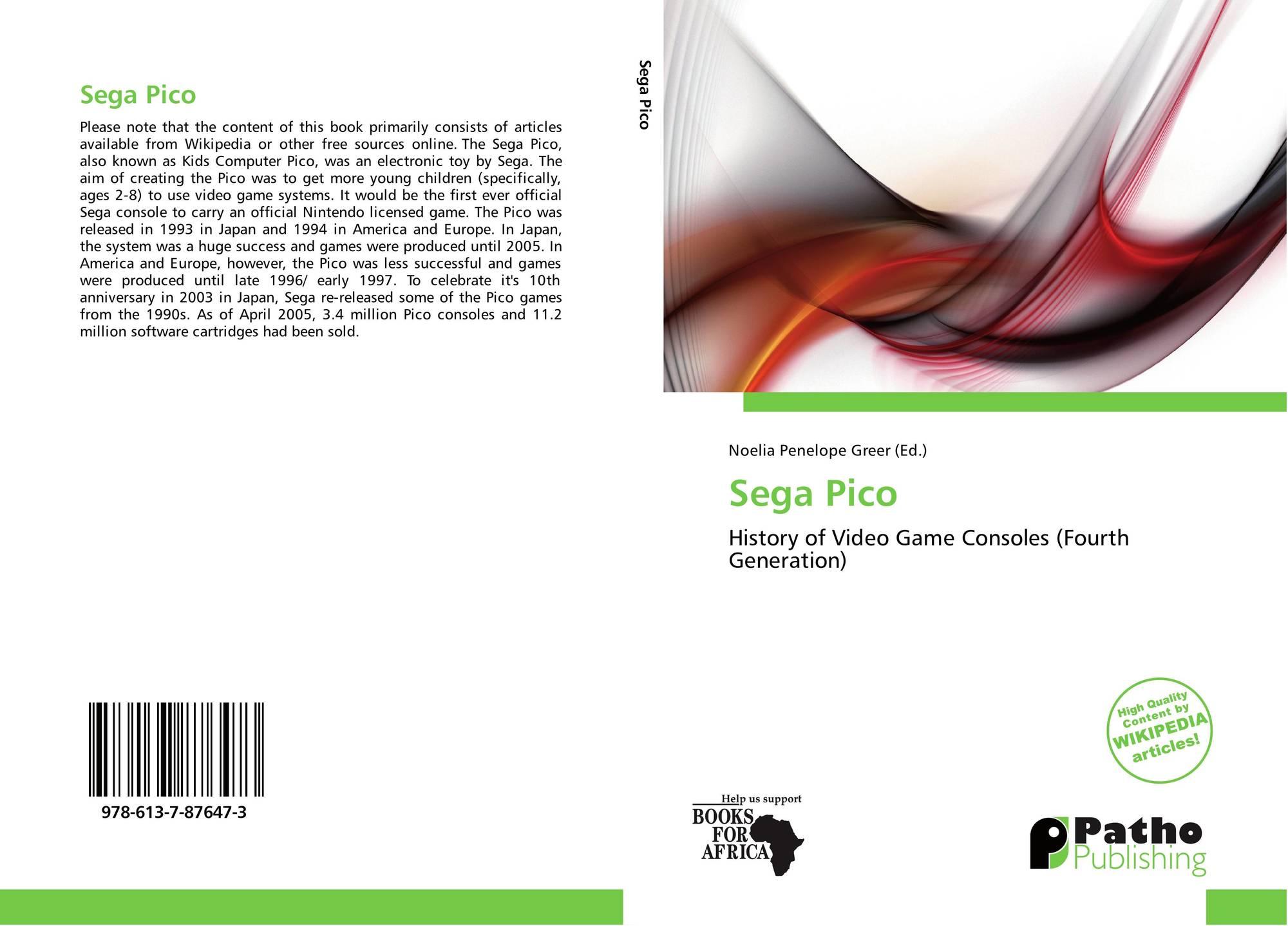 Sega Pico, 978-613-7-87647-3, 6137876470 ,9786137876473