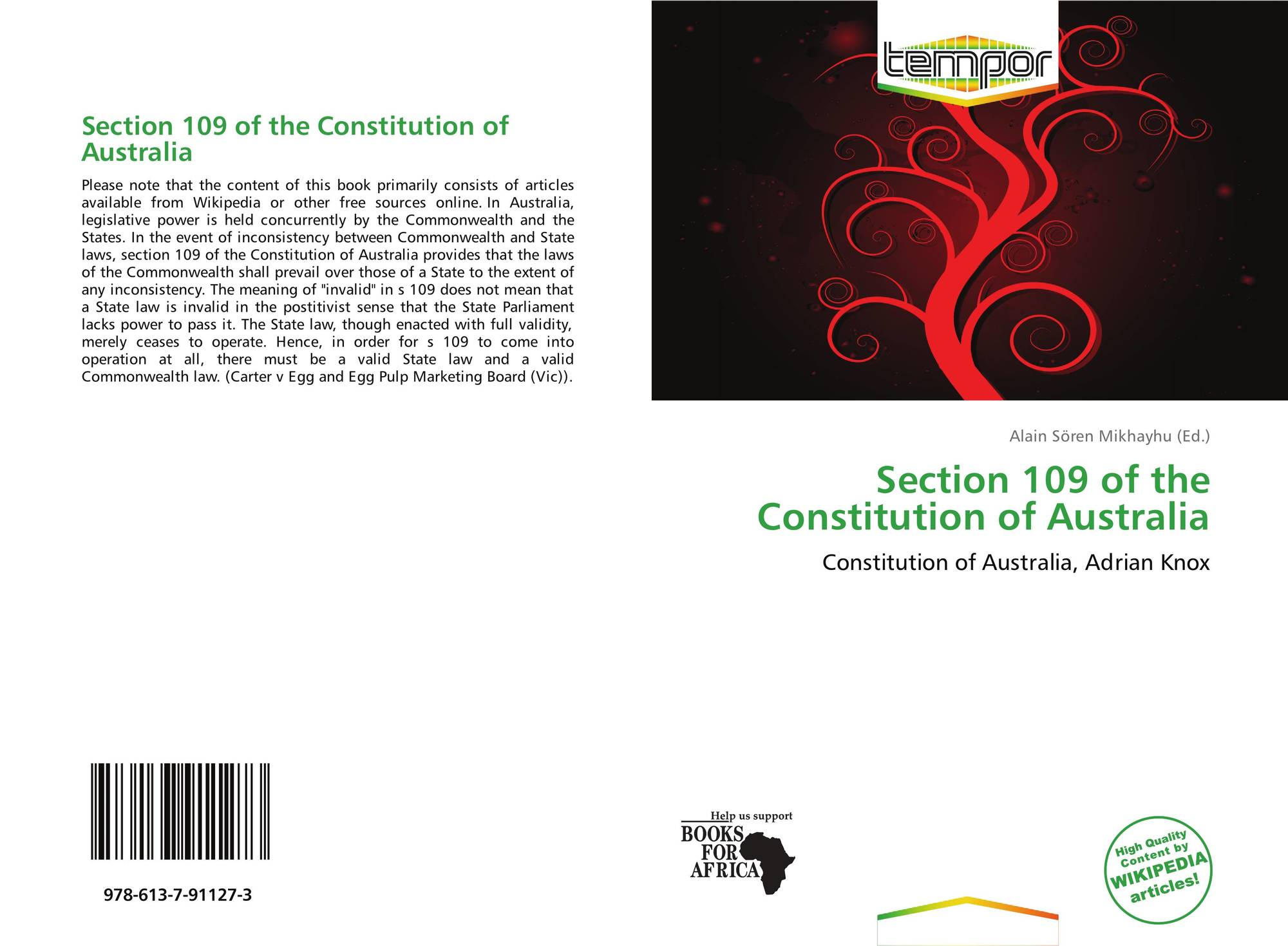 an analysis of the limits placed on commonwealth power under the australian constitution