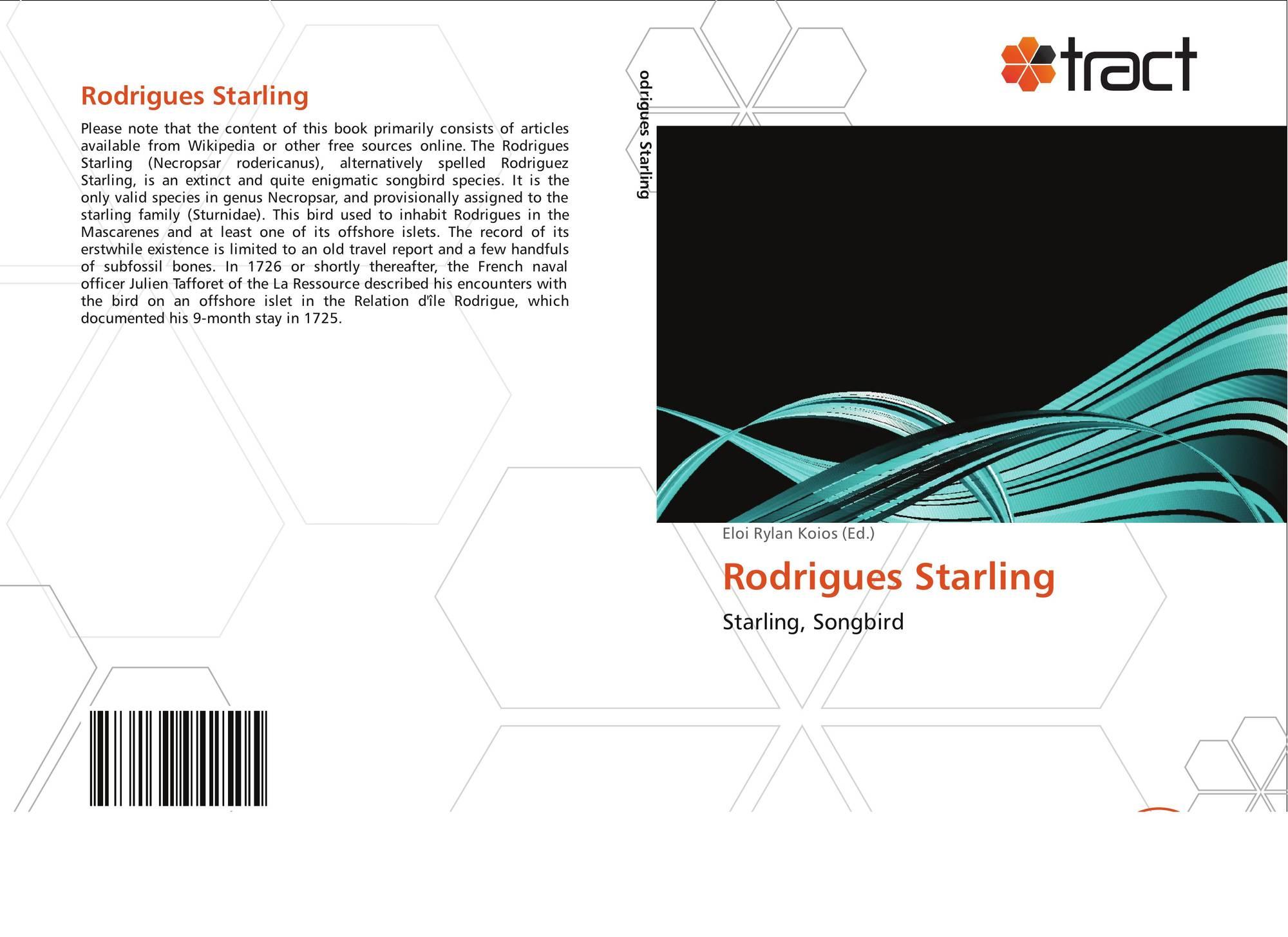 Rodrigues starling