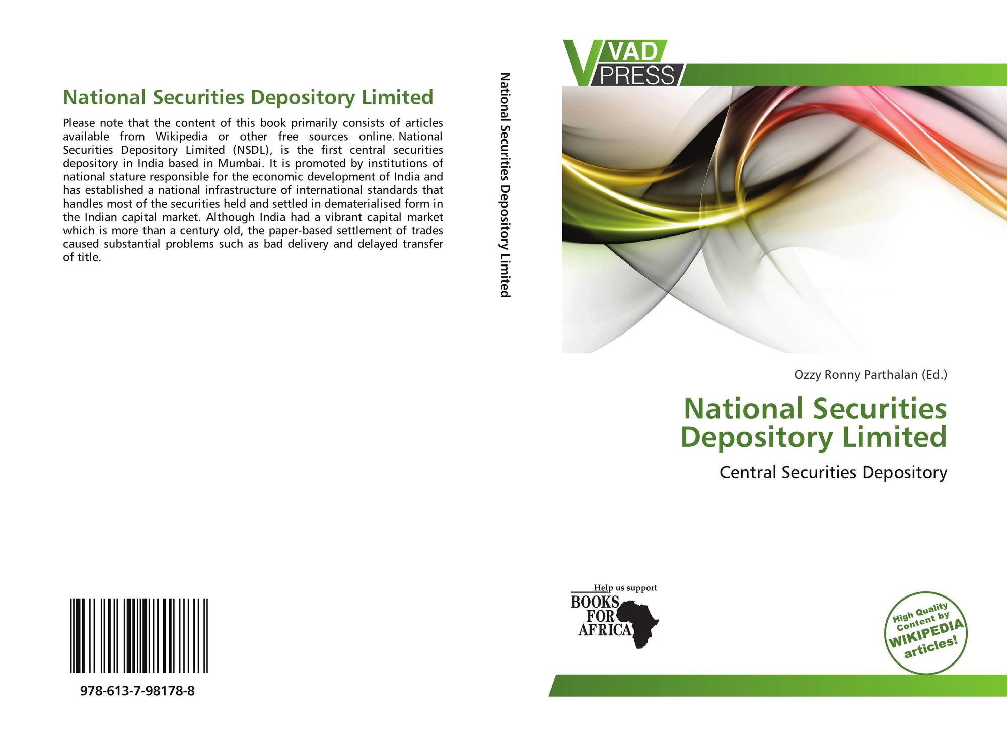 depository system in india security system for investors economics essay A depository participant (dp) is an agent of the depository and provides depository services to investors such security in the depository system 7.