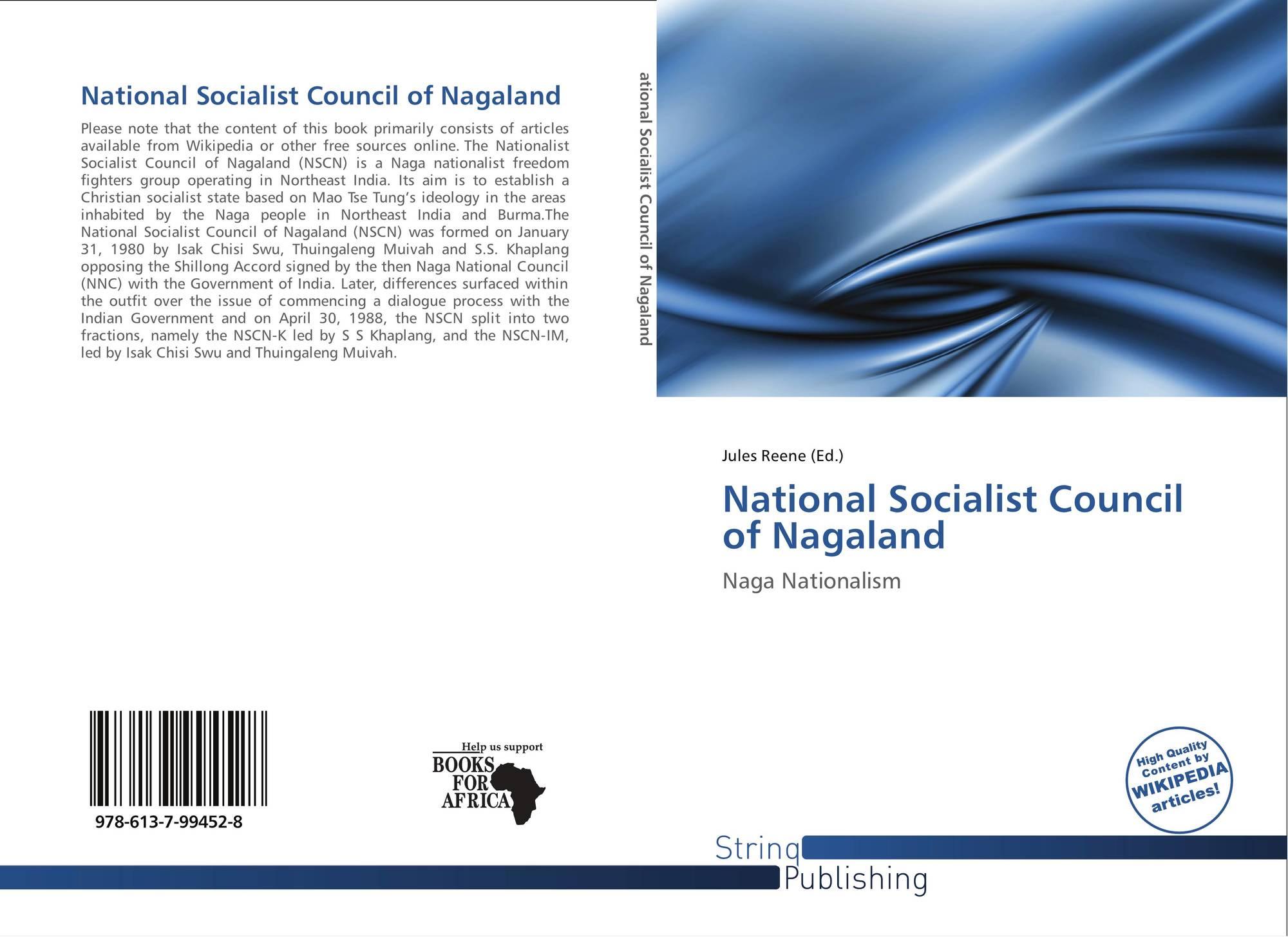 National Socialist Council of Nagaland, 978-613-7-99452-8