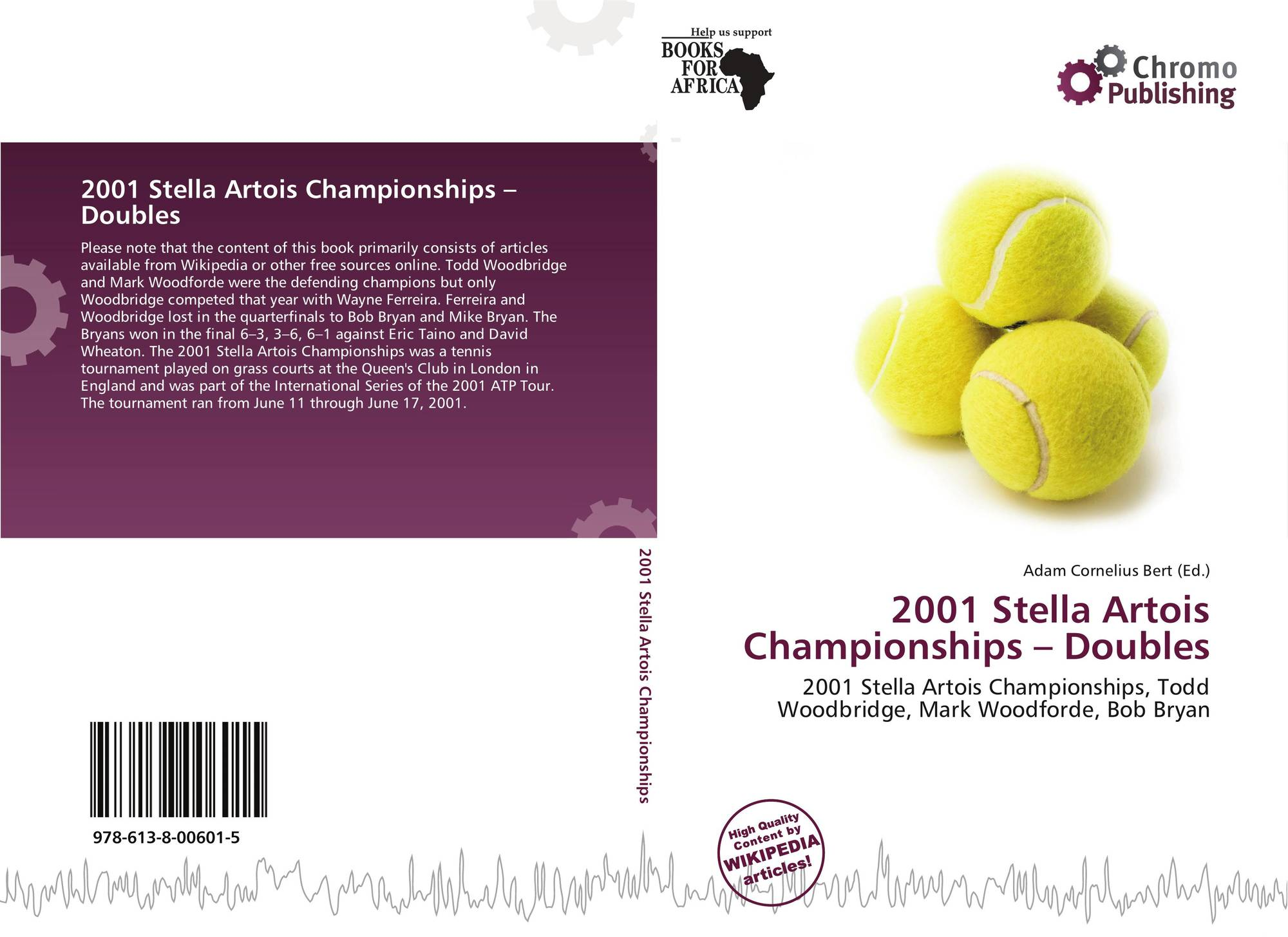 artois singles The queen's club championships is an annual tournament for male tennis  between 1979 and 2008 it was known as the stella artois championships,  men's singles.