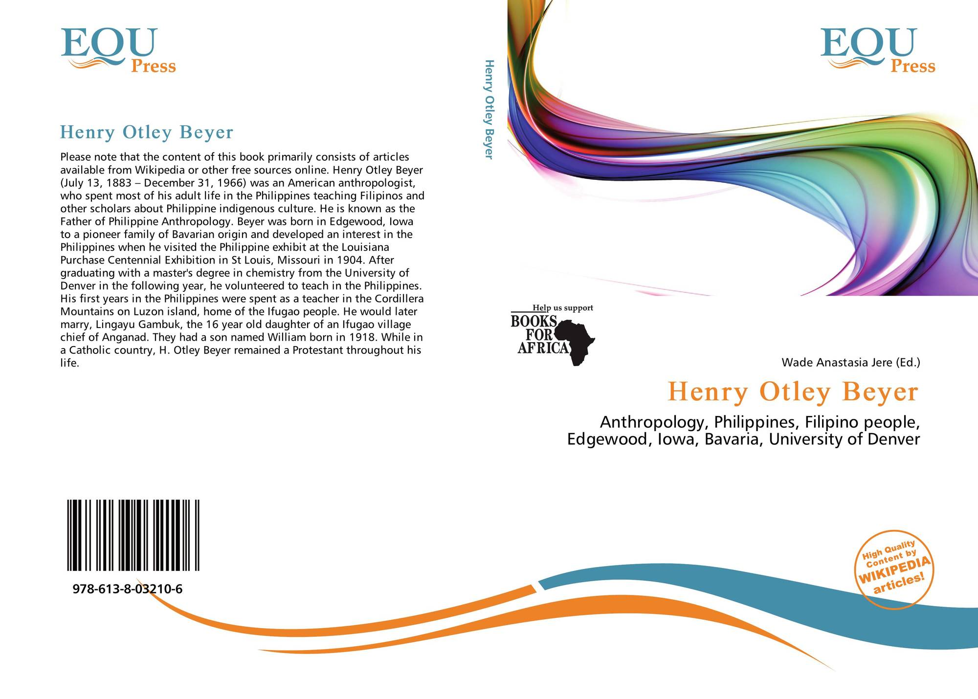 migration theory henry otley beyer Early inhabitants of the philippine islands - henry otley beyer's migration theory and felipe landa jocano's evolution theory.