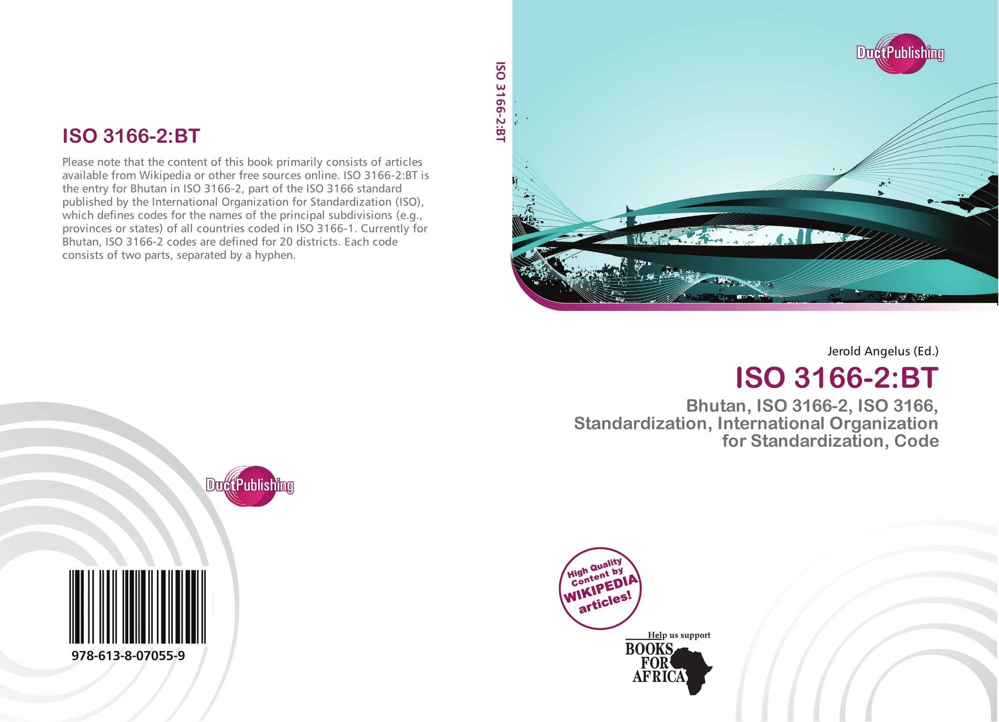ISO 3166-2:BT, 978-613-8-07055...